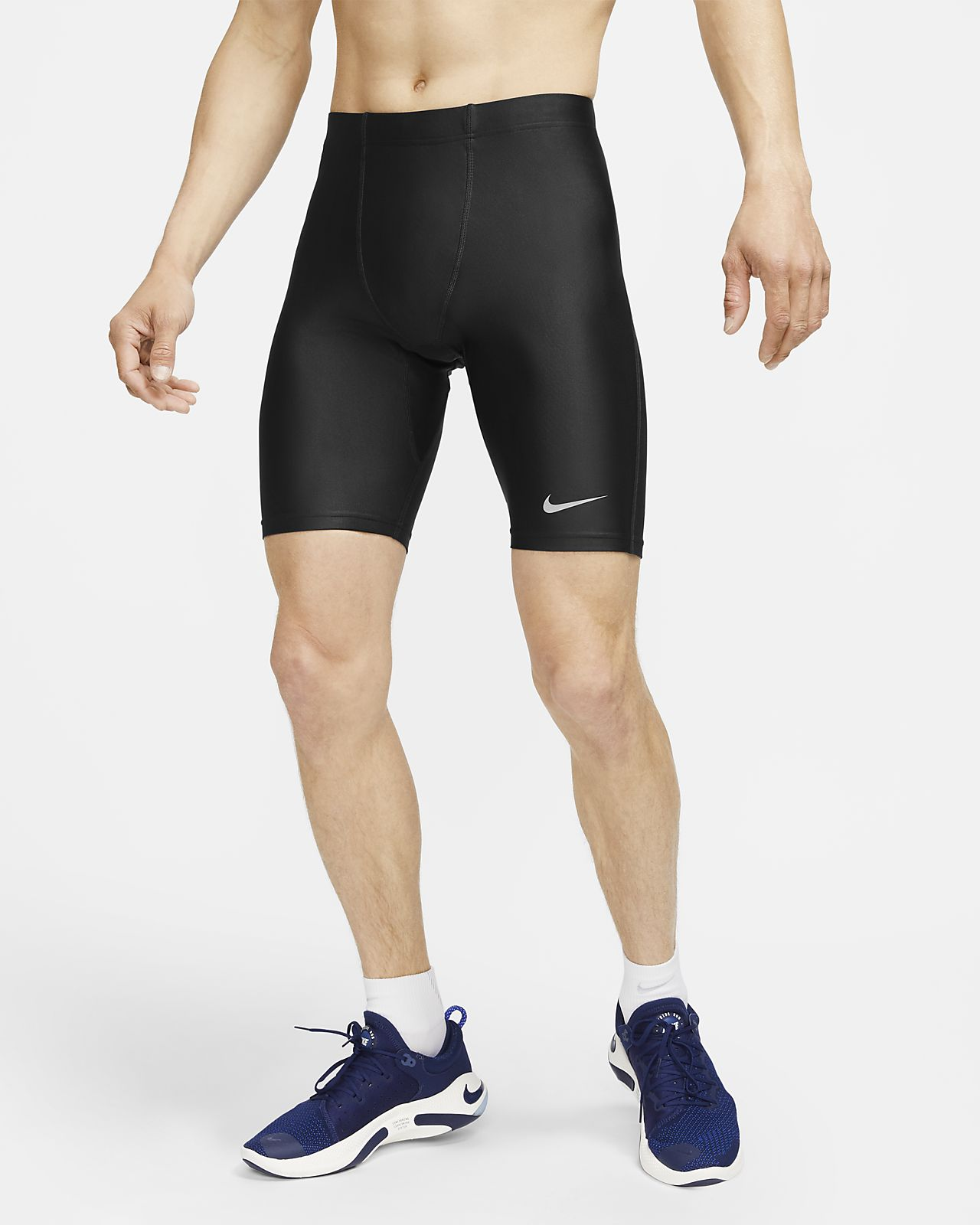 Nike Fast-løbetights i halv længde til mænd