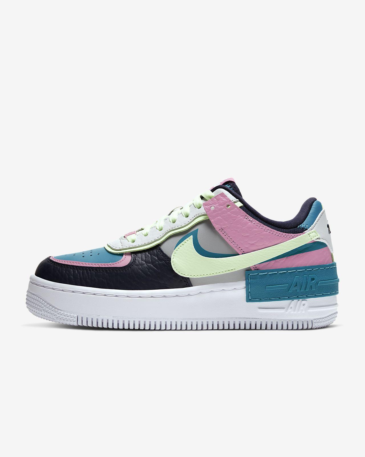 nike air Force 1 lav pink og hvid