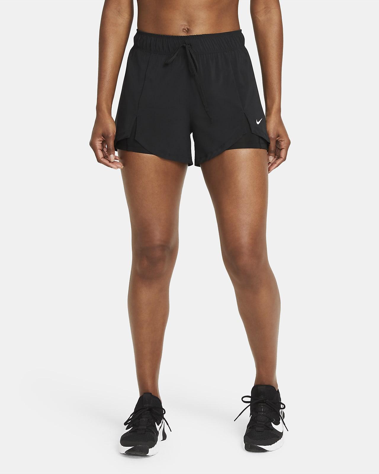 Short de training Nike Flex Essential 2-en-1 pour Femme