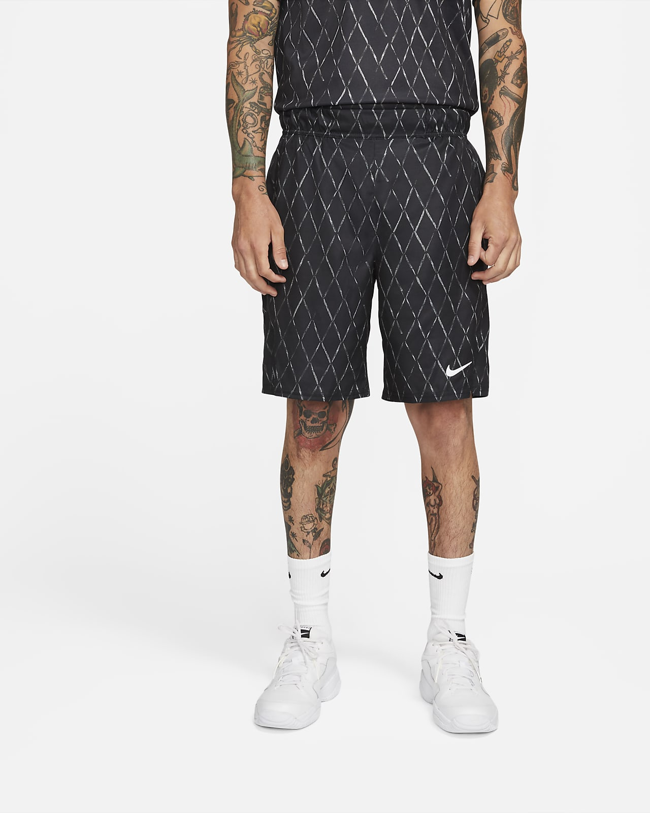 "NikeCourt Dri-FIT Victory Men's 9"" Printed Tennis Shorts"