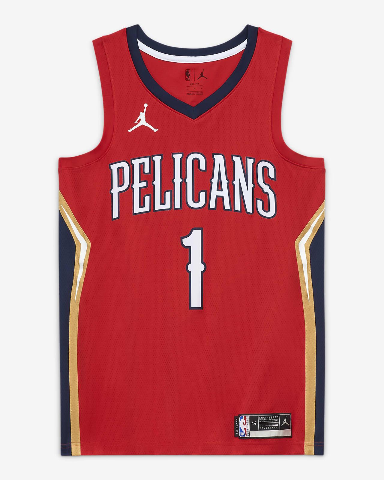 2020 赛季新奥尔良鹈鹕队 Statement Edition Jordan NBA Swingman Jersey 男子球衣