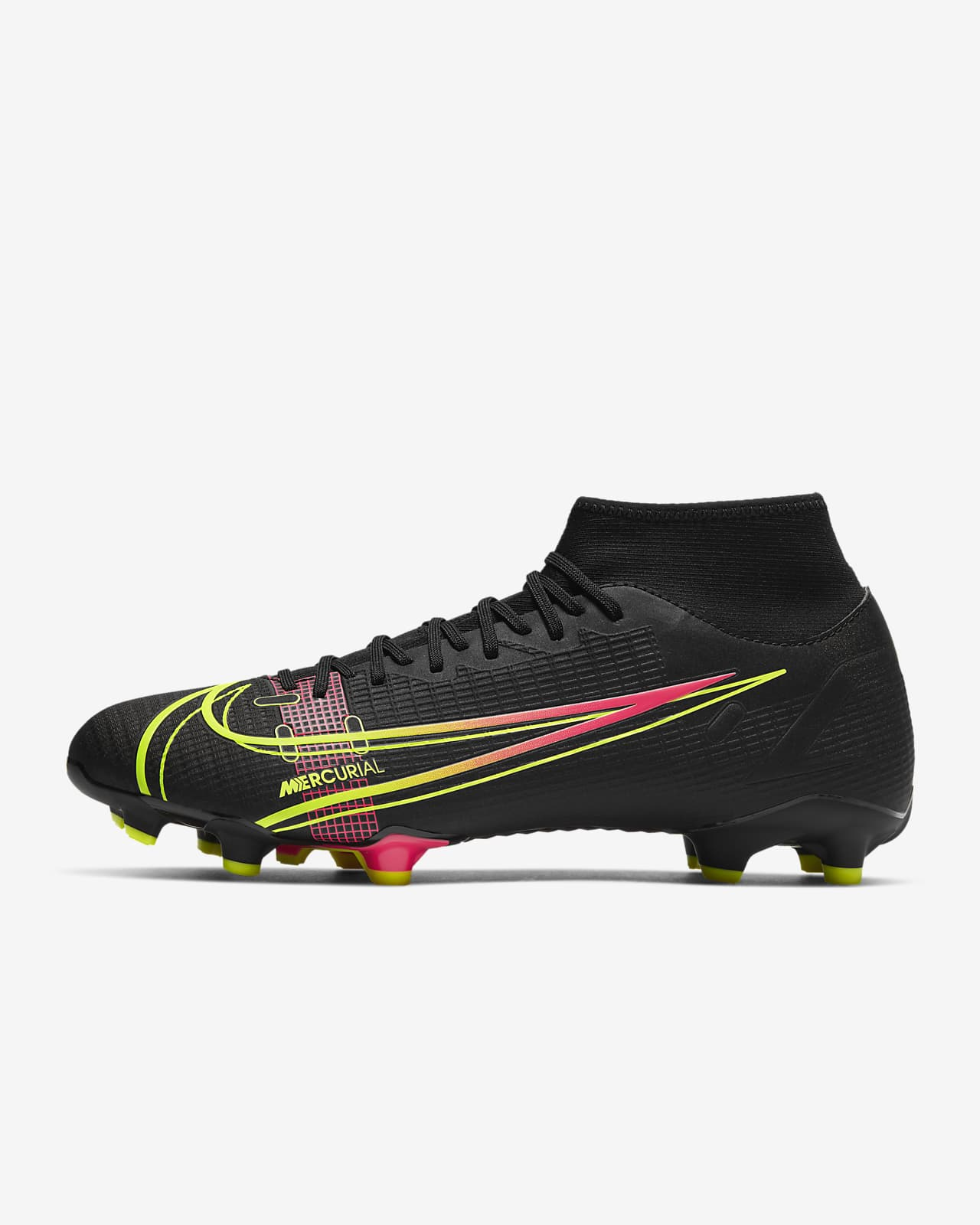 Chaussure de football multi-surfaces à crampons Nike Mercurial Superfly 8 Academy MG