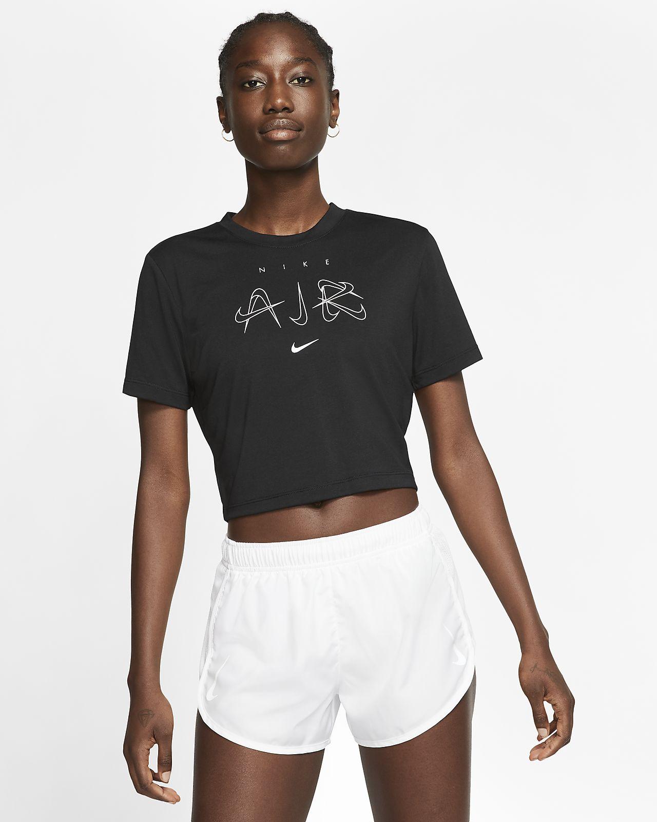 tee shirt nike noir court femme