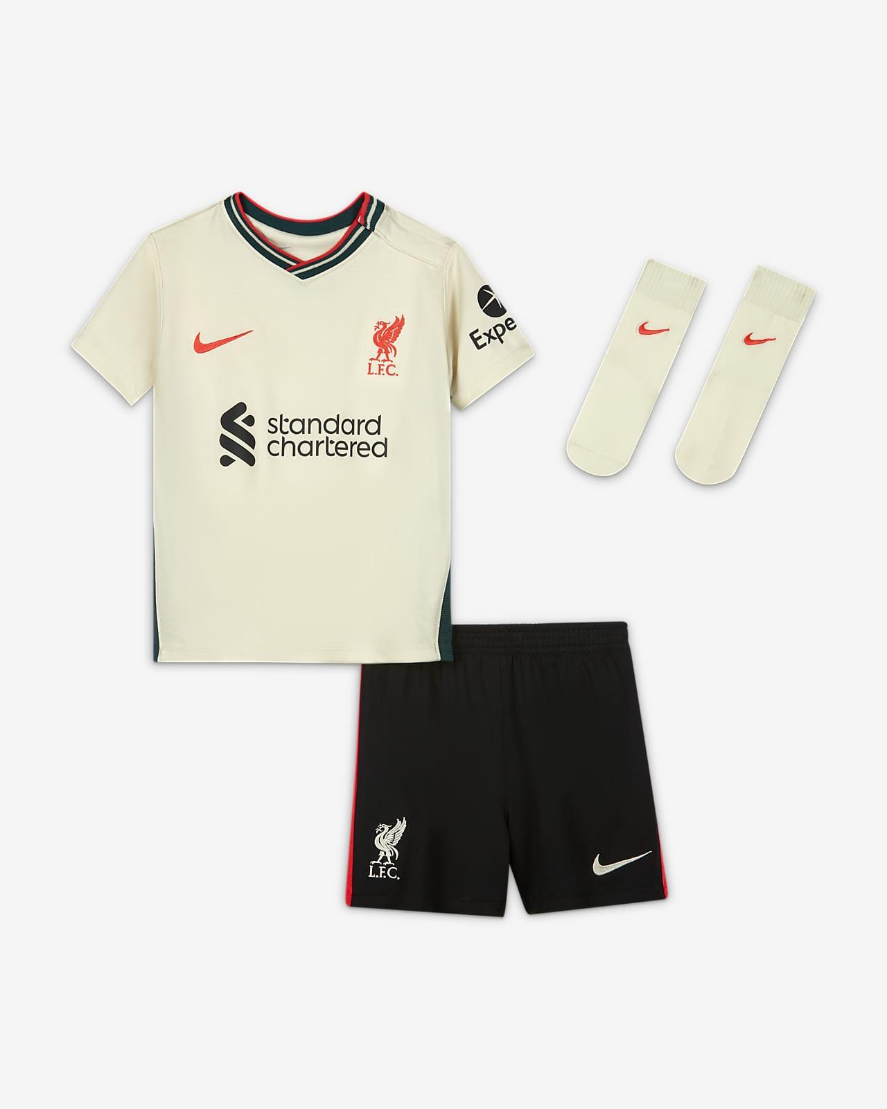 Divisa da calcio Liverpool FC 2021/22 per neonati/bimbi piccoli - Away