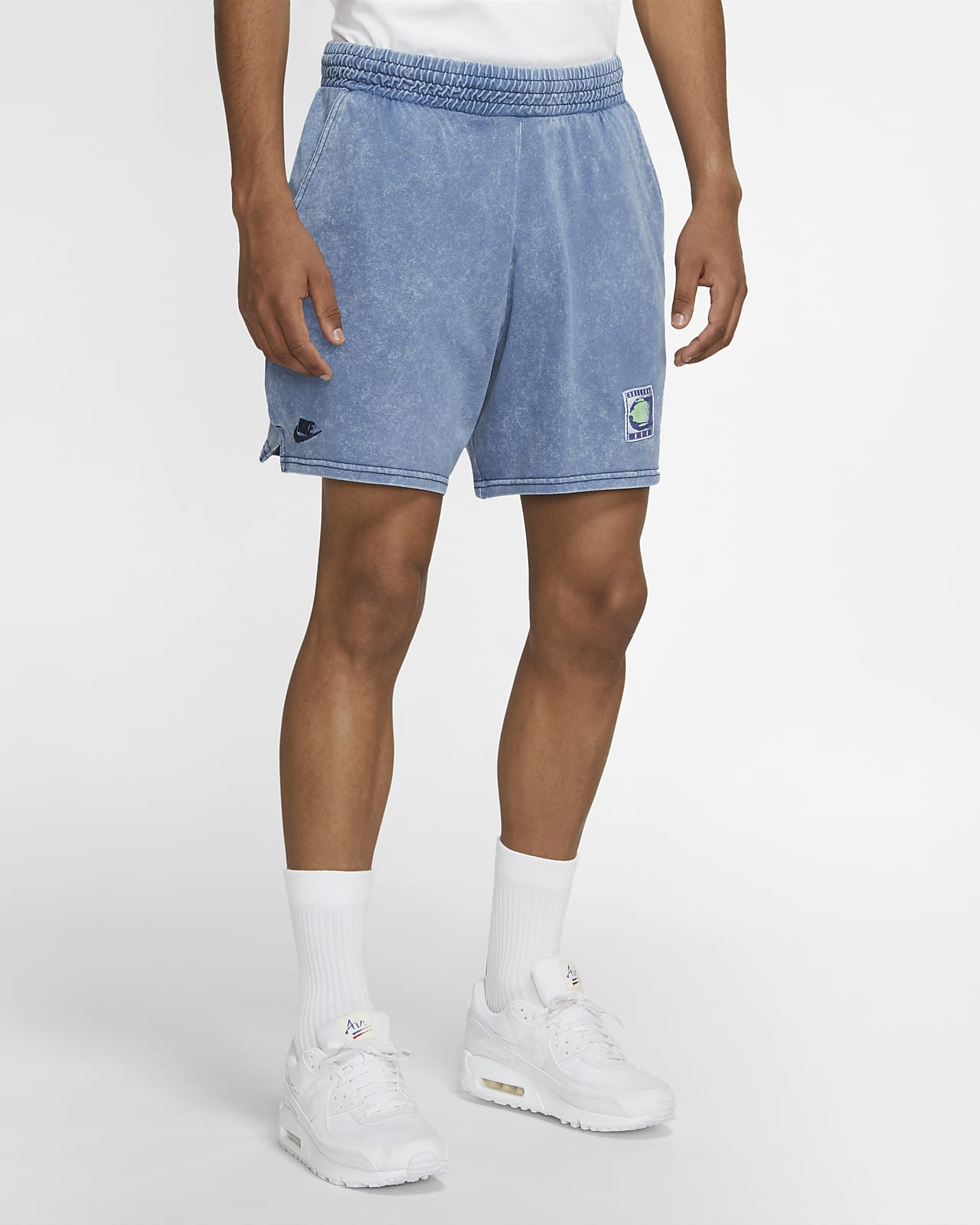 Nike Sportswear 男子针织水洗短裤