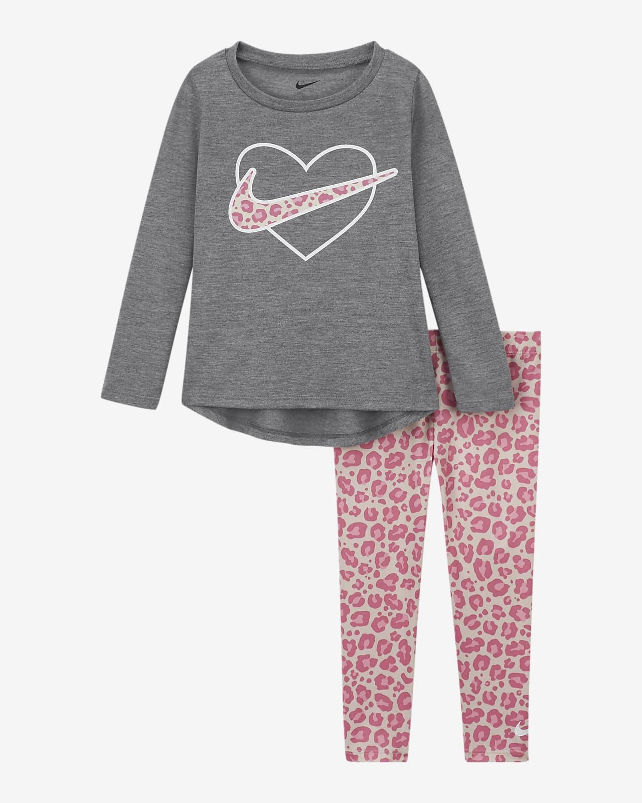 Completo con leggings e maglia Nike - Bimbi piccoli