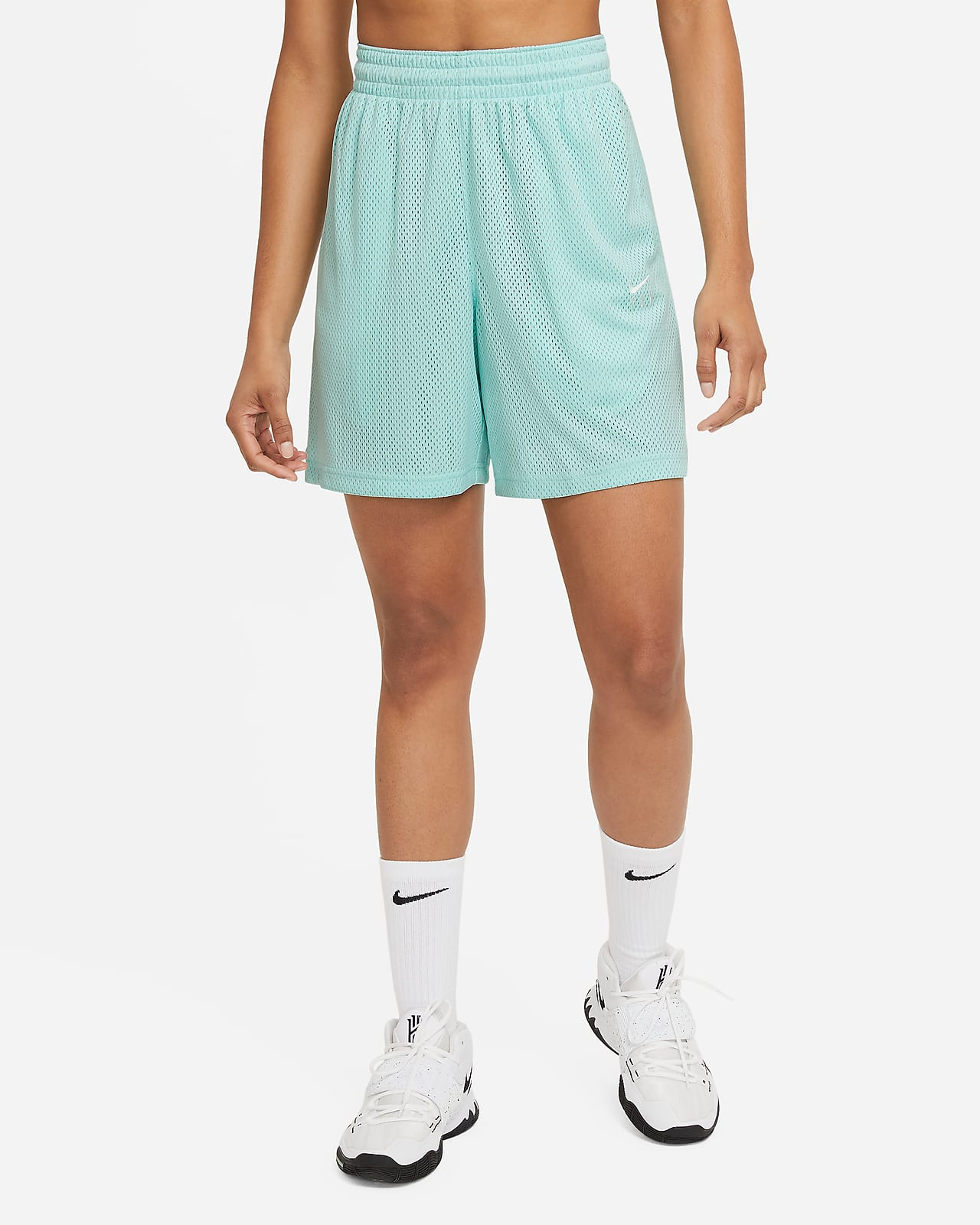 Nike Swoosh Fly Damen-Basketballshorts