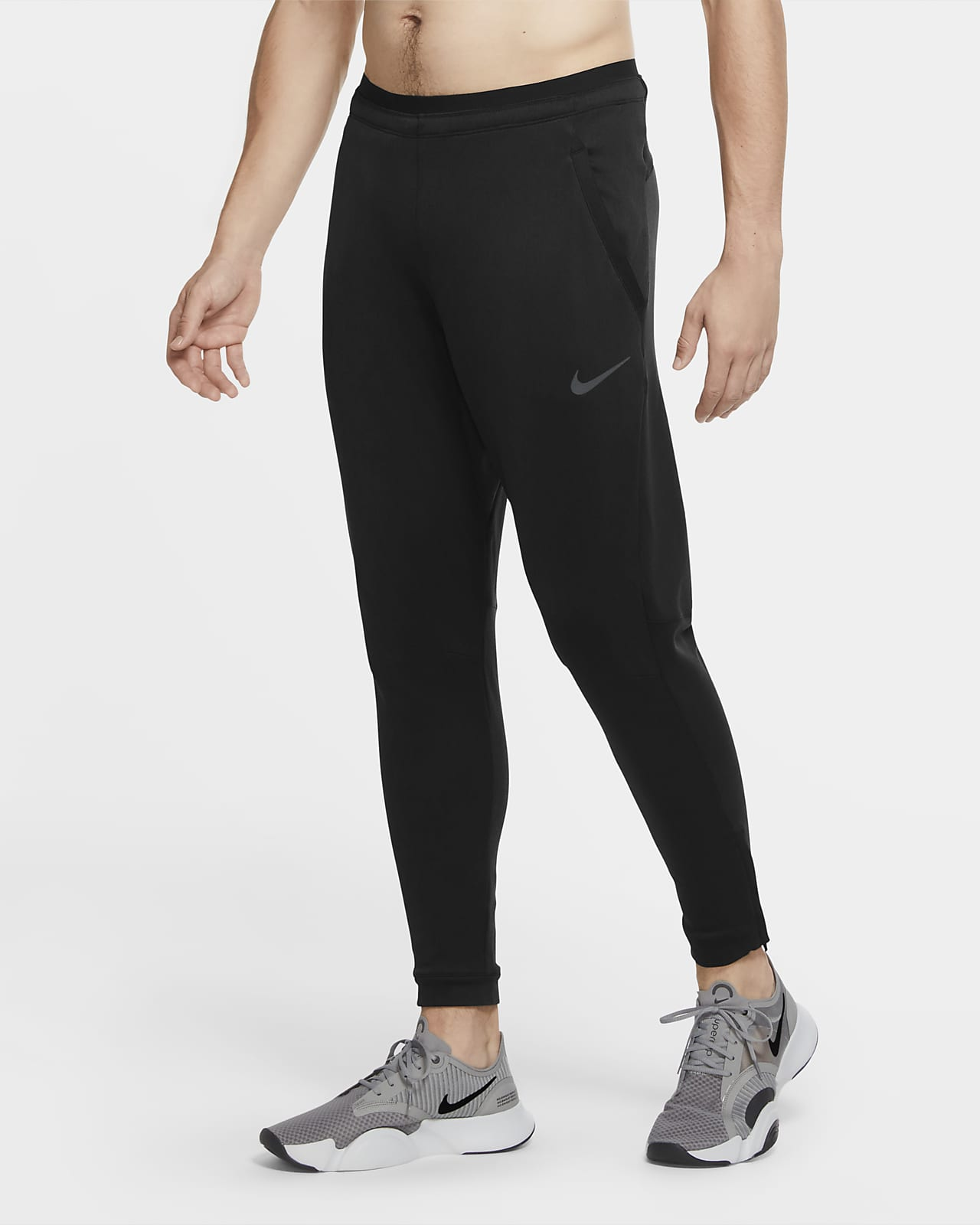 Pantalon en tissu Fleece Nike Pro pour Homme