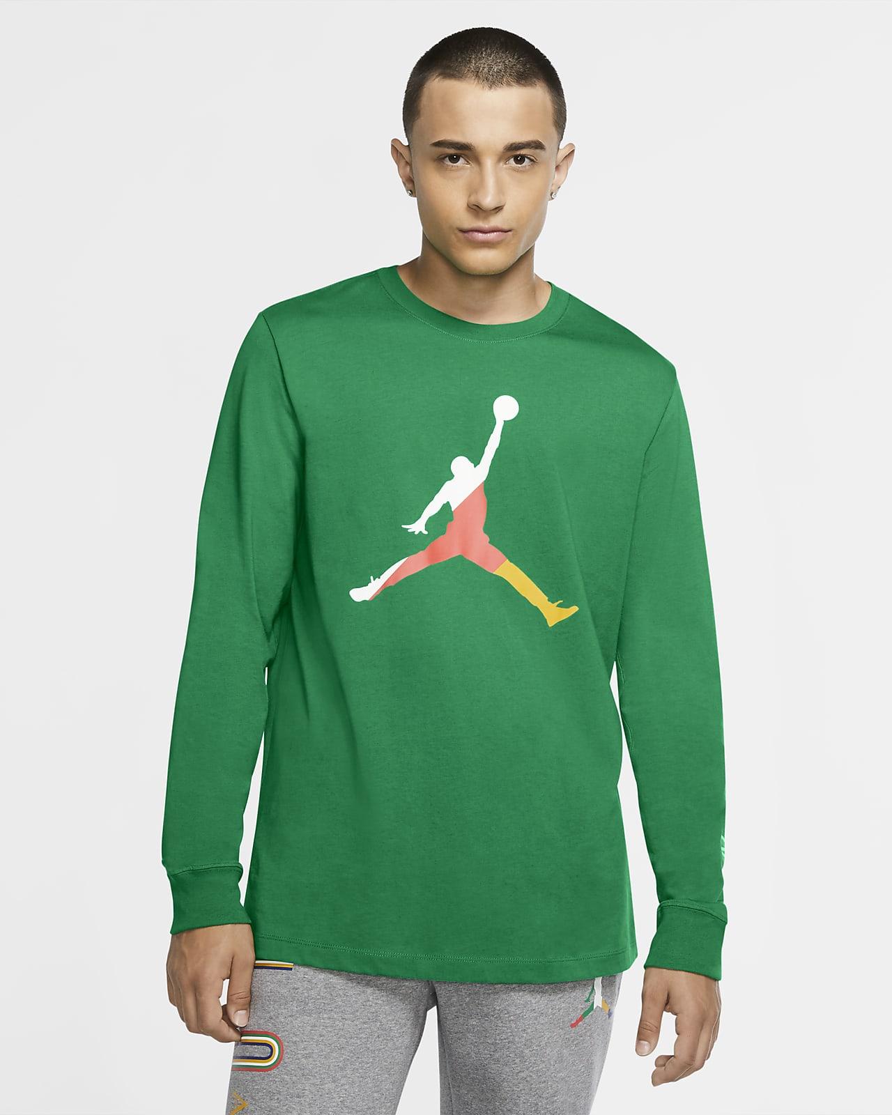 Jordan Sport DNA Langarm-Rundhalsshirt für Herren