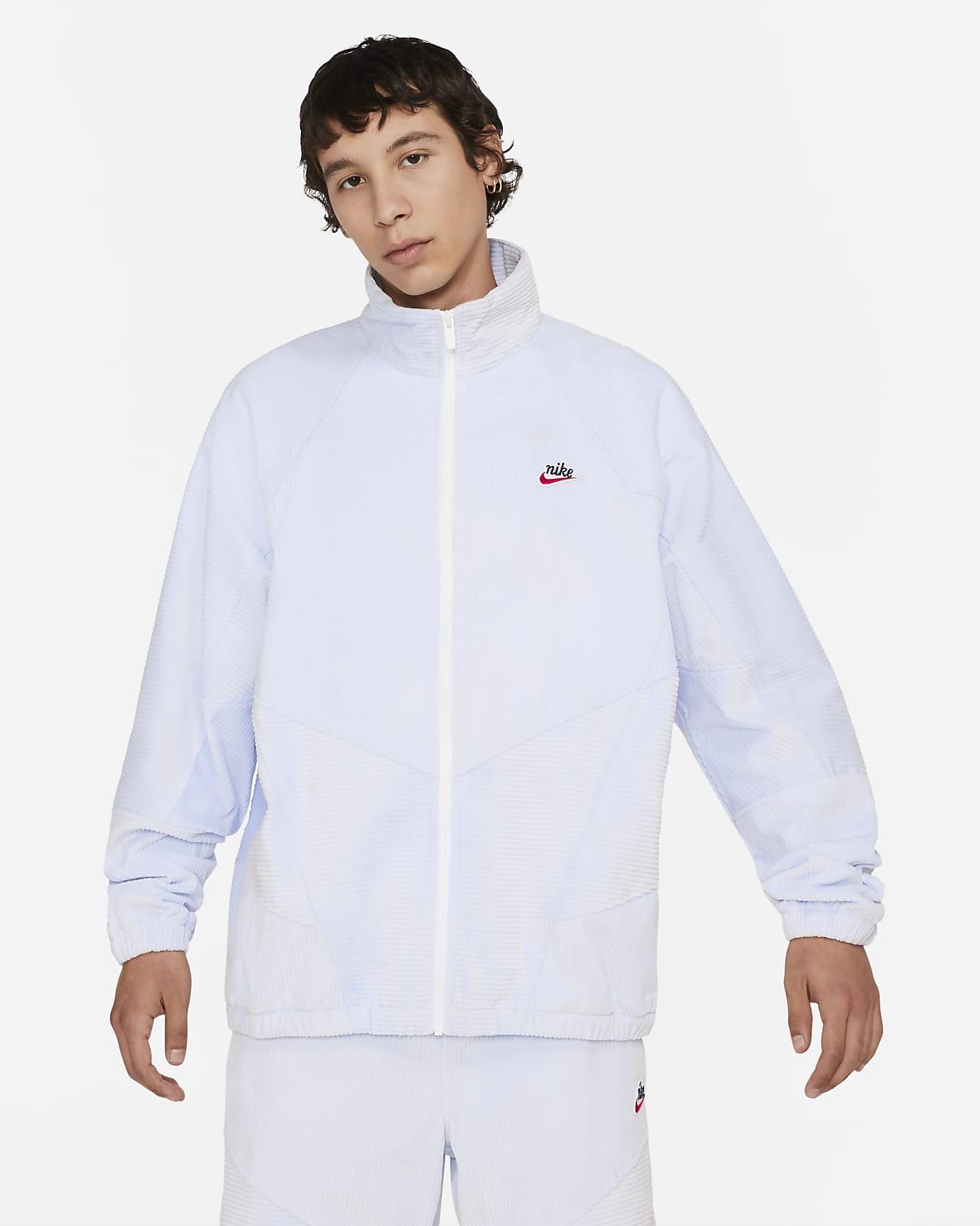 Chamarra de pana para hombre Nike Sportswear Heritage Windrunner