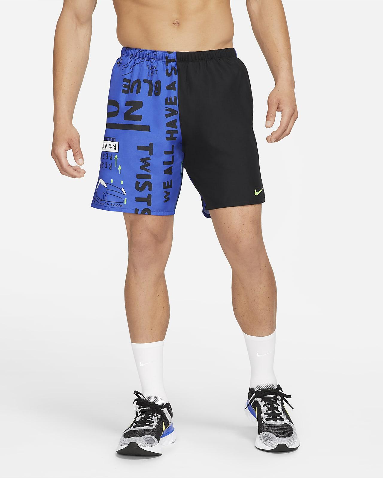 Nike Challenger Hackney Men's Brief-Lined Running Shorts