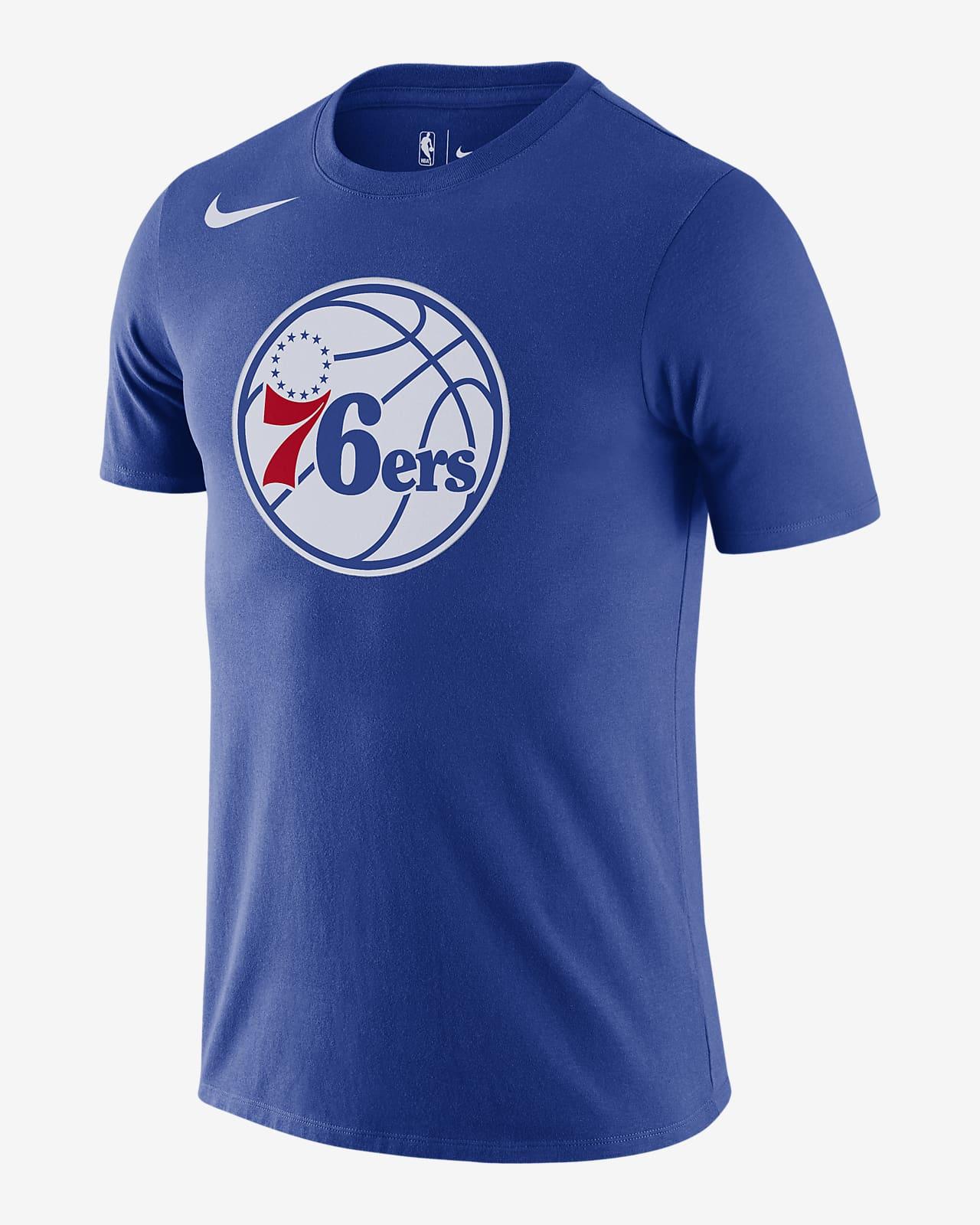 Philadelphia 76ers Camiseta Logo Nike Dri-FIT de la NBA - Hombre