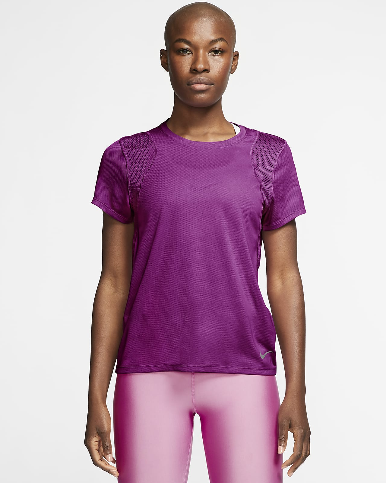 เสื้อวิ่งแขนสั้นผู้หญิง Nike Run