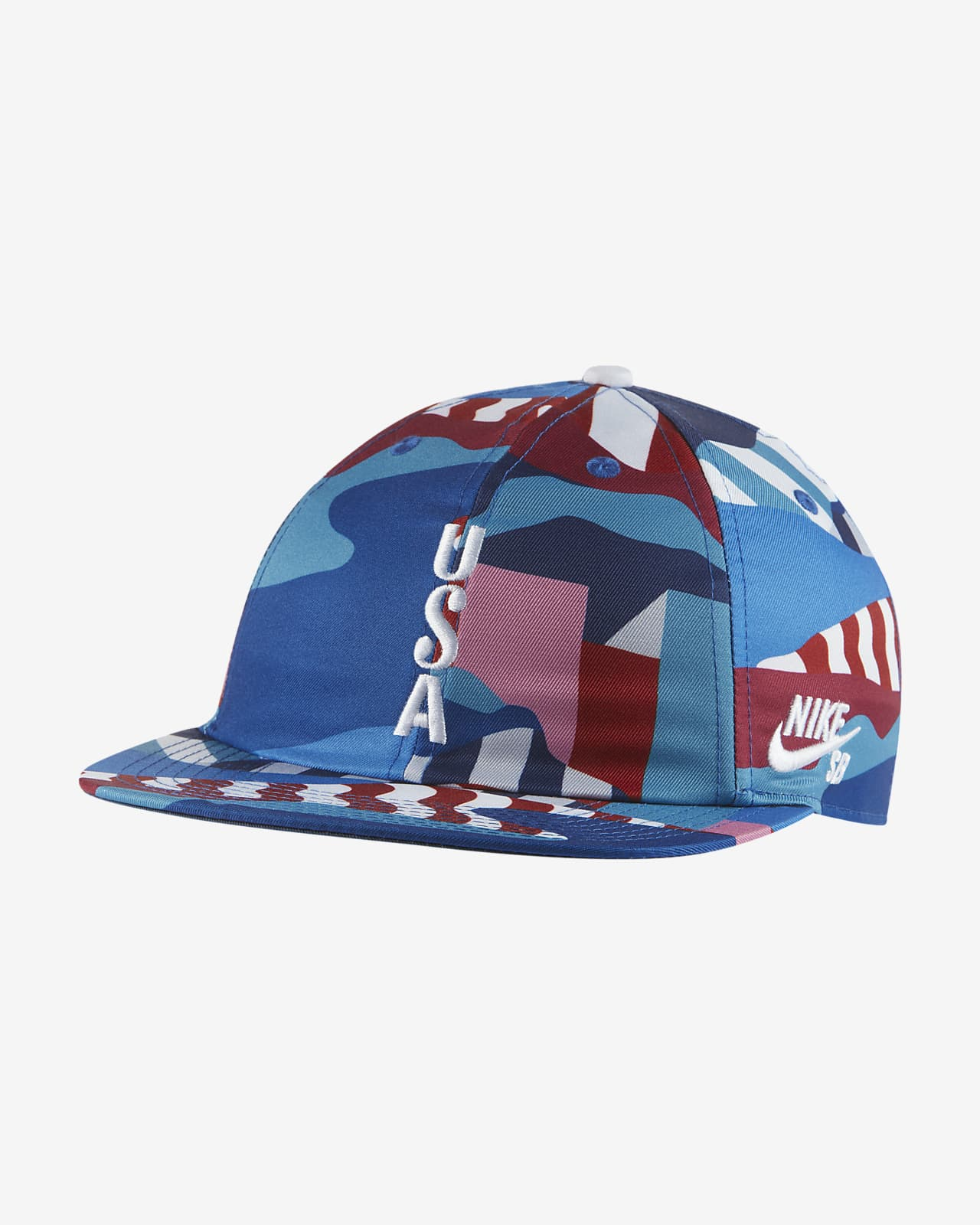 Nike SB Team USA Printed Skate Cap