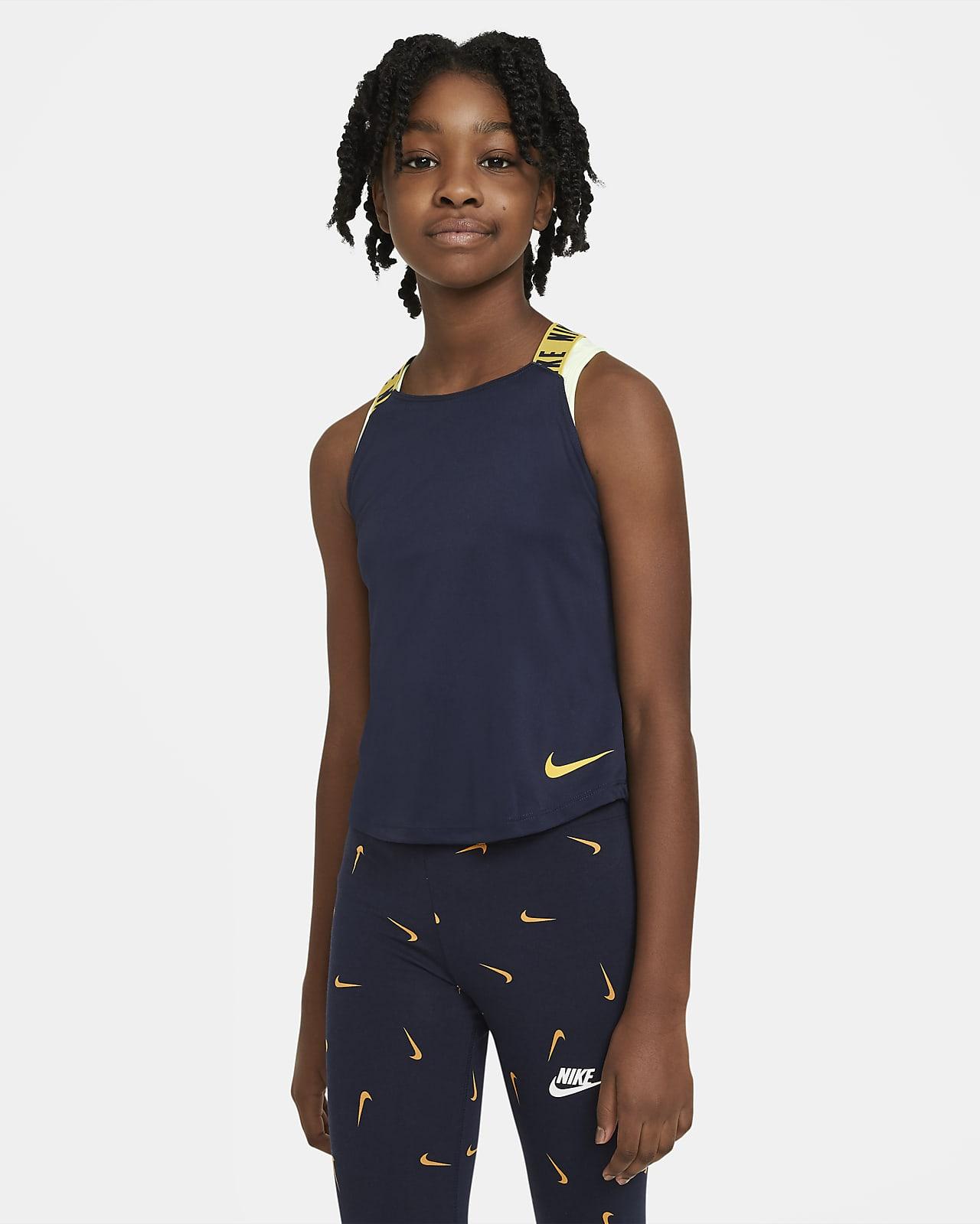 Nike Dri-FIT Trainings-Tanktop für ältere Kinder (Mädchen)
