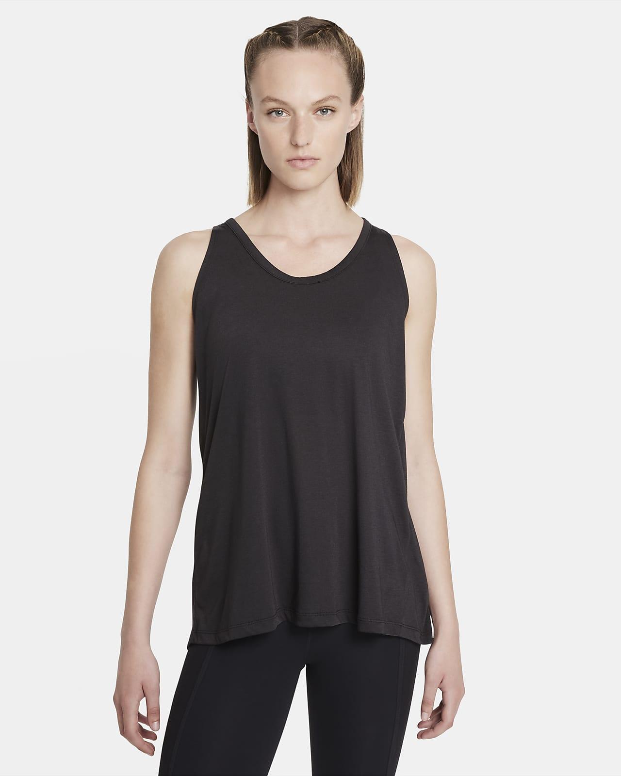 Camiseta de tirantes para mujer Nike Yoga Dri-FIT