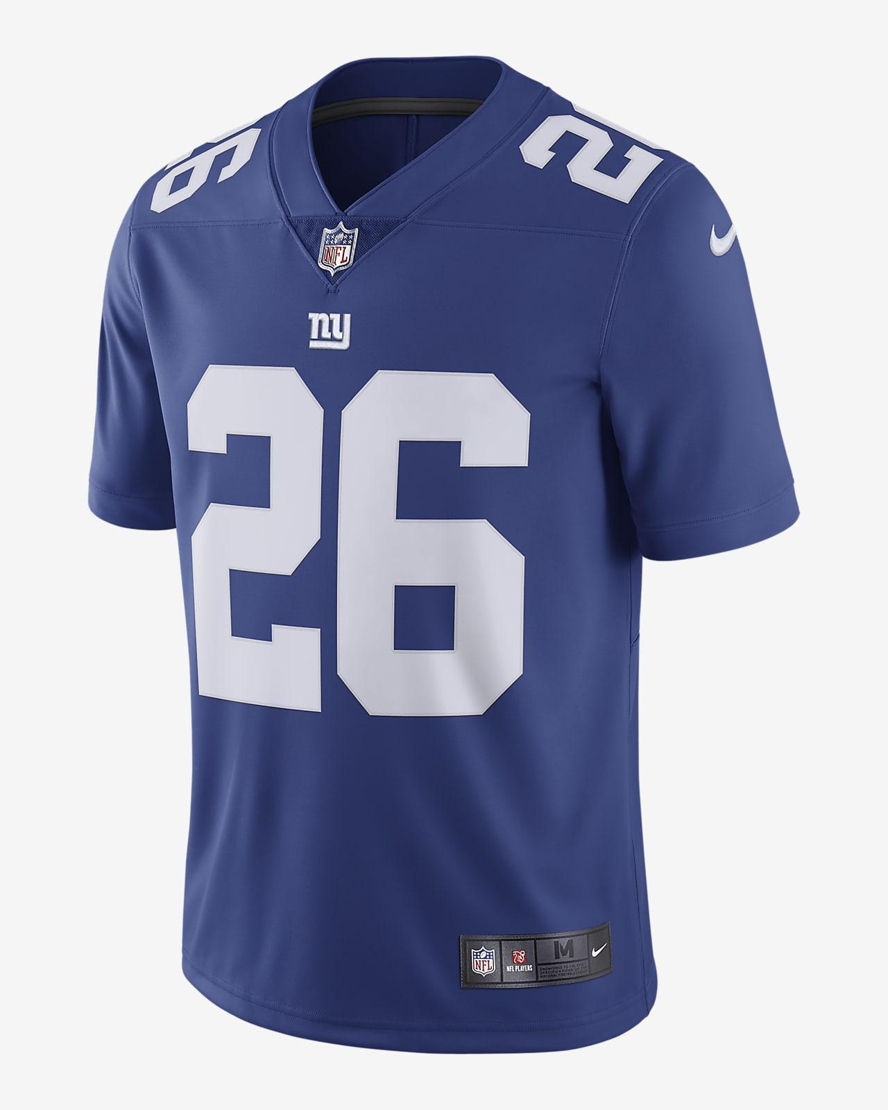 NFL New York Giants Vapor Untouchable (Saquon Barkley) Men's Limited Football Jersey