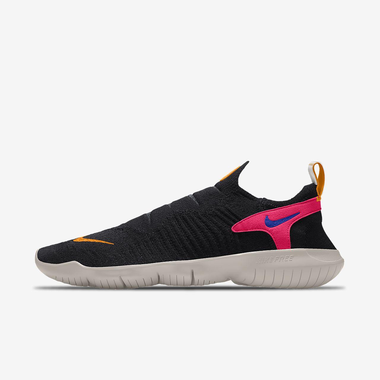 Женские беговые кроссовки с индивидуальным дизайном Nike Free RN Flyknit 3.0 By You