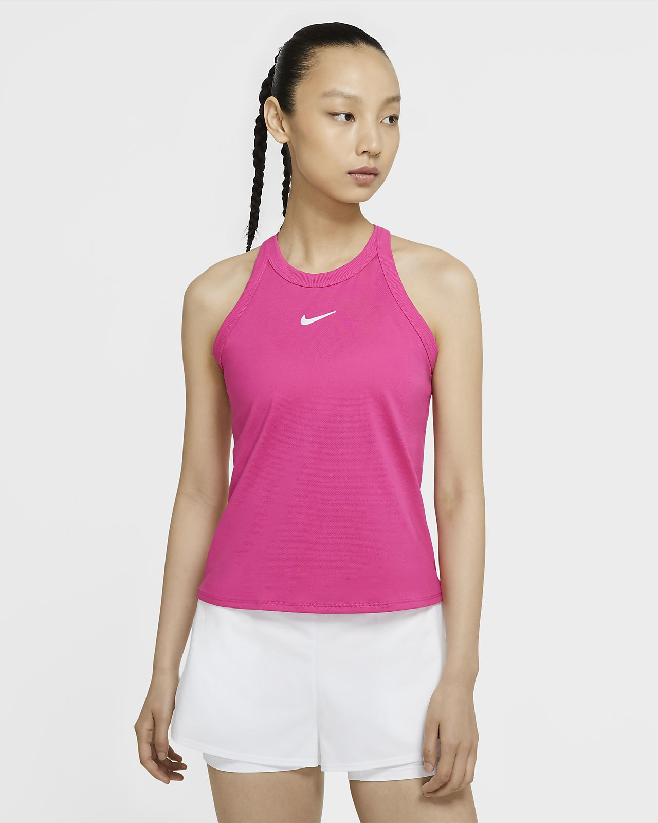 NikeCourt Dri-FIT Tennistanktop voor dames