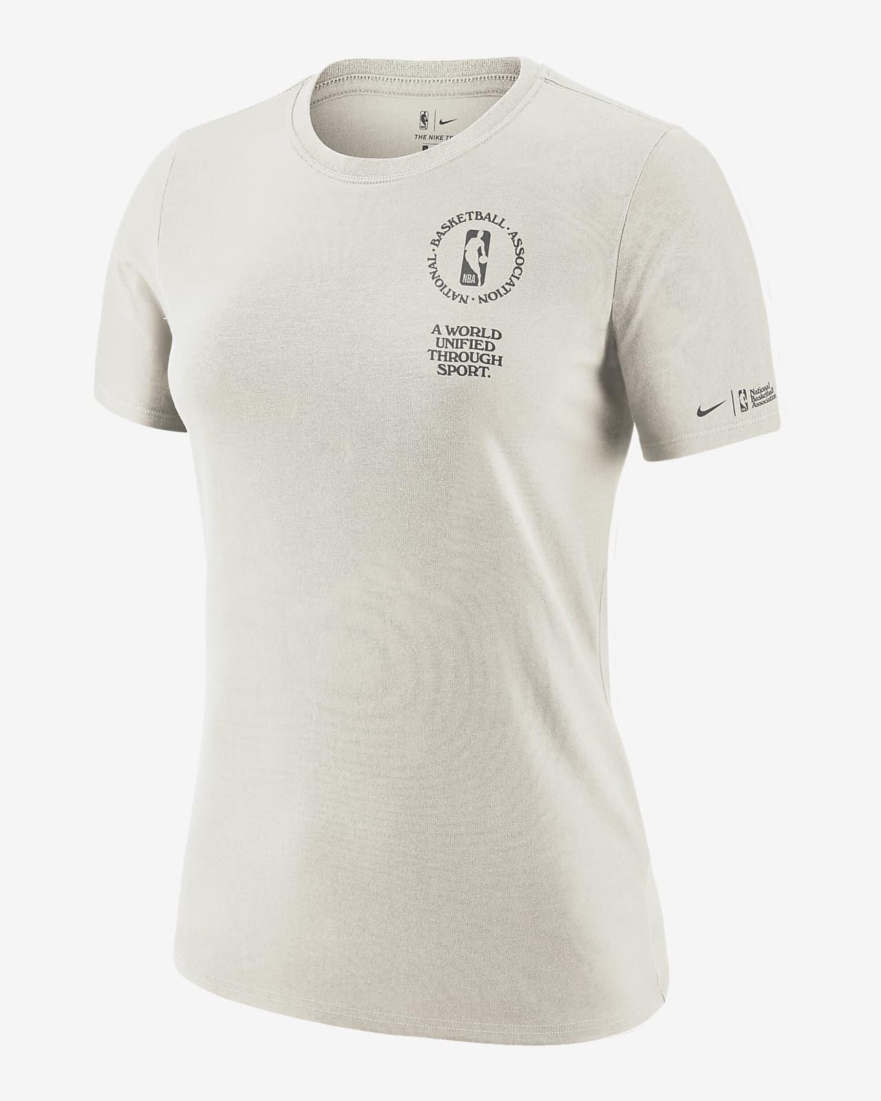 Damski T-shirt z krótkim rękawem NBA Nike Team 31 Courtside