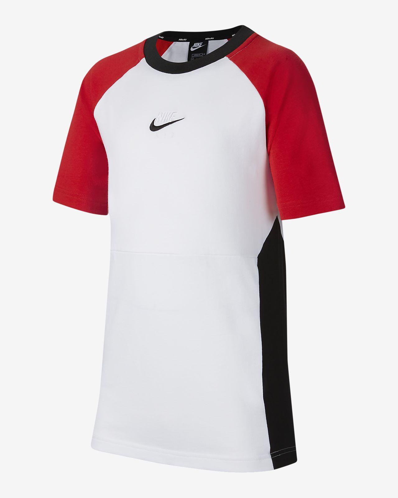 大男孩t恤短袖_Nike Air 大童(男孩)短袖上衣-耐克(Nike)中国官网