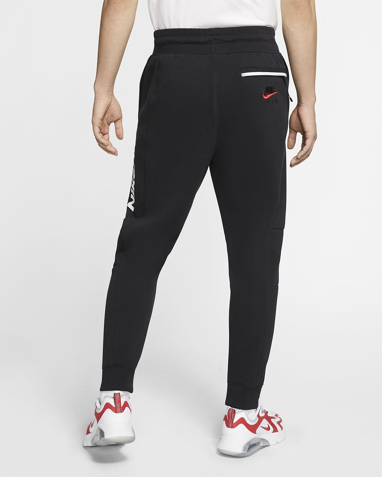 nike pantalon molletonné optic homme