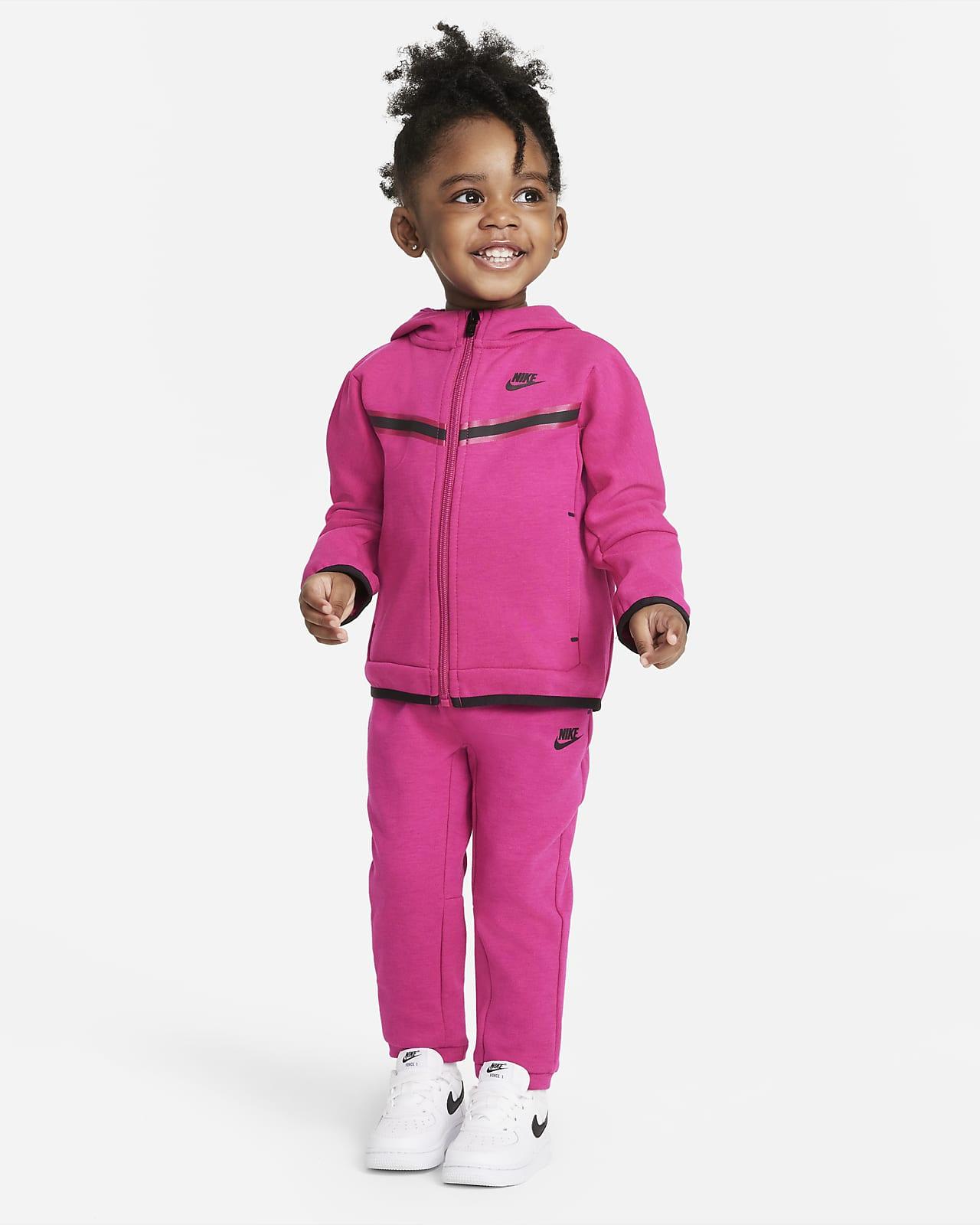 Conjunto de hoodie e calças Nike Sportswear Tech Fleece para bebé (12-24 M)
