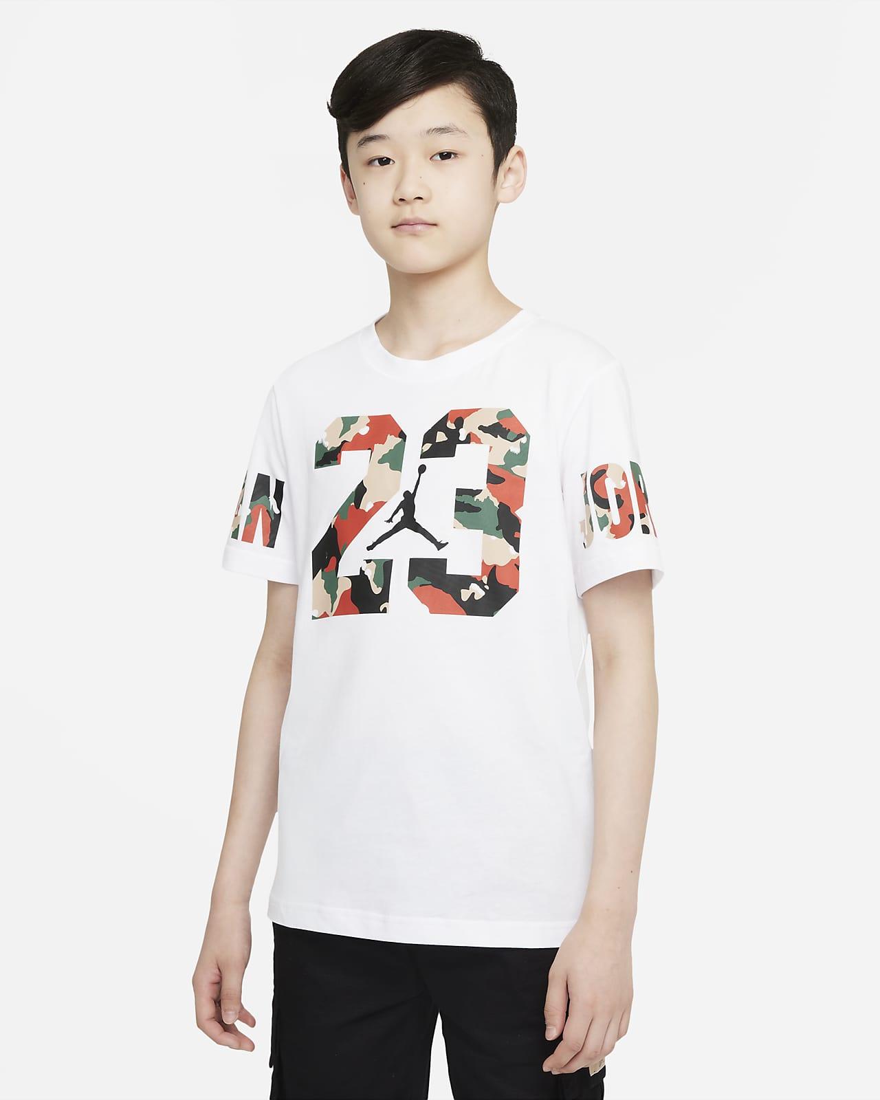 Jordan 大童(男孩)T恤