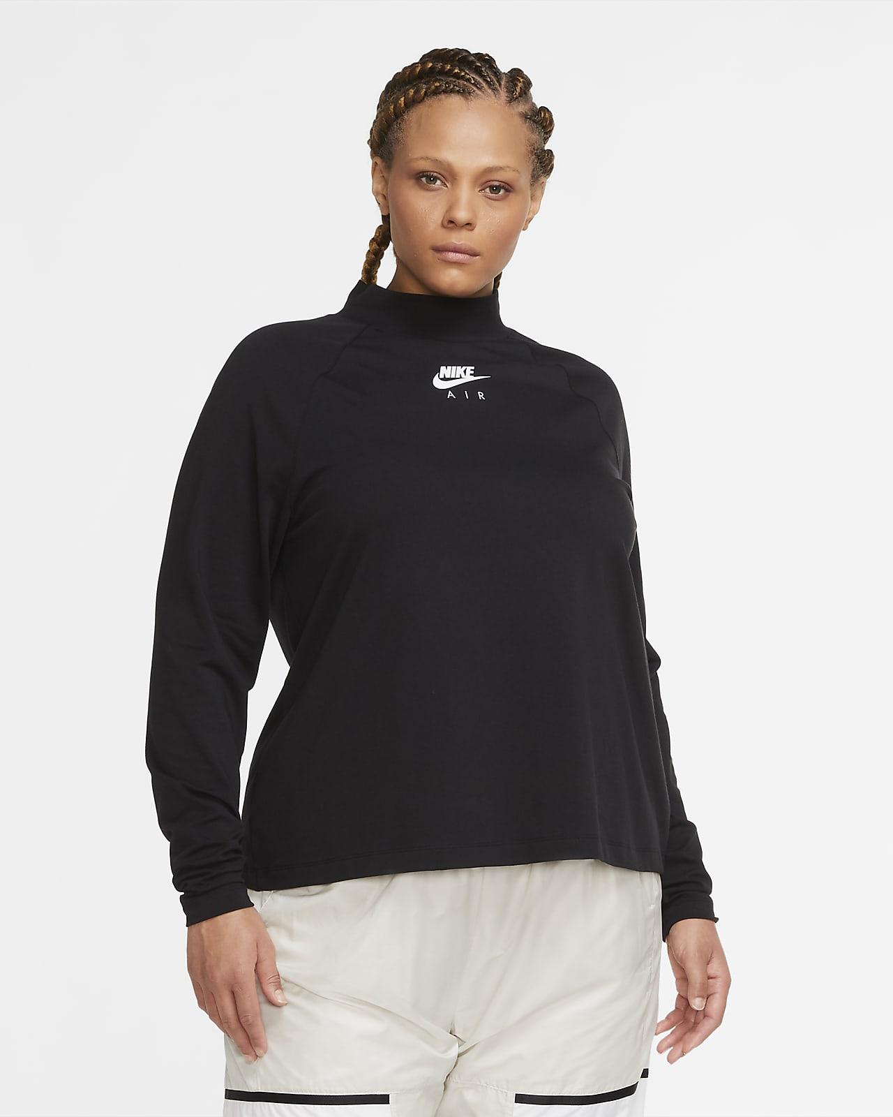 Nike Air Part superior de màniga llarga (talles grans) - Dona