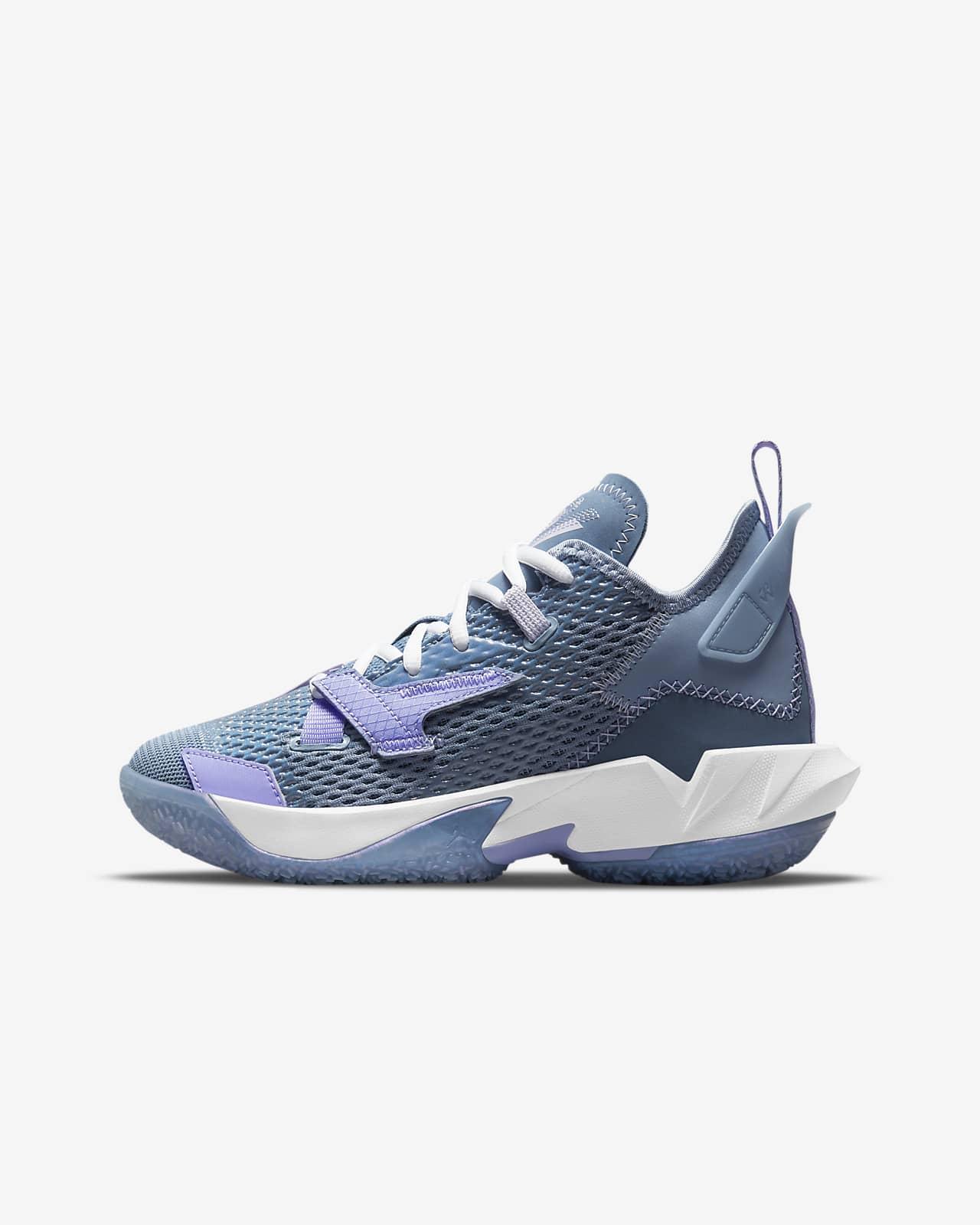 """Scarpa da basket Jordan """"Why Not?""""Zer0.4 - Ragazzi"""