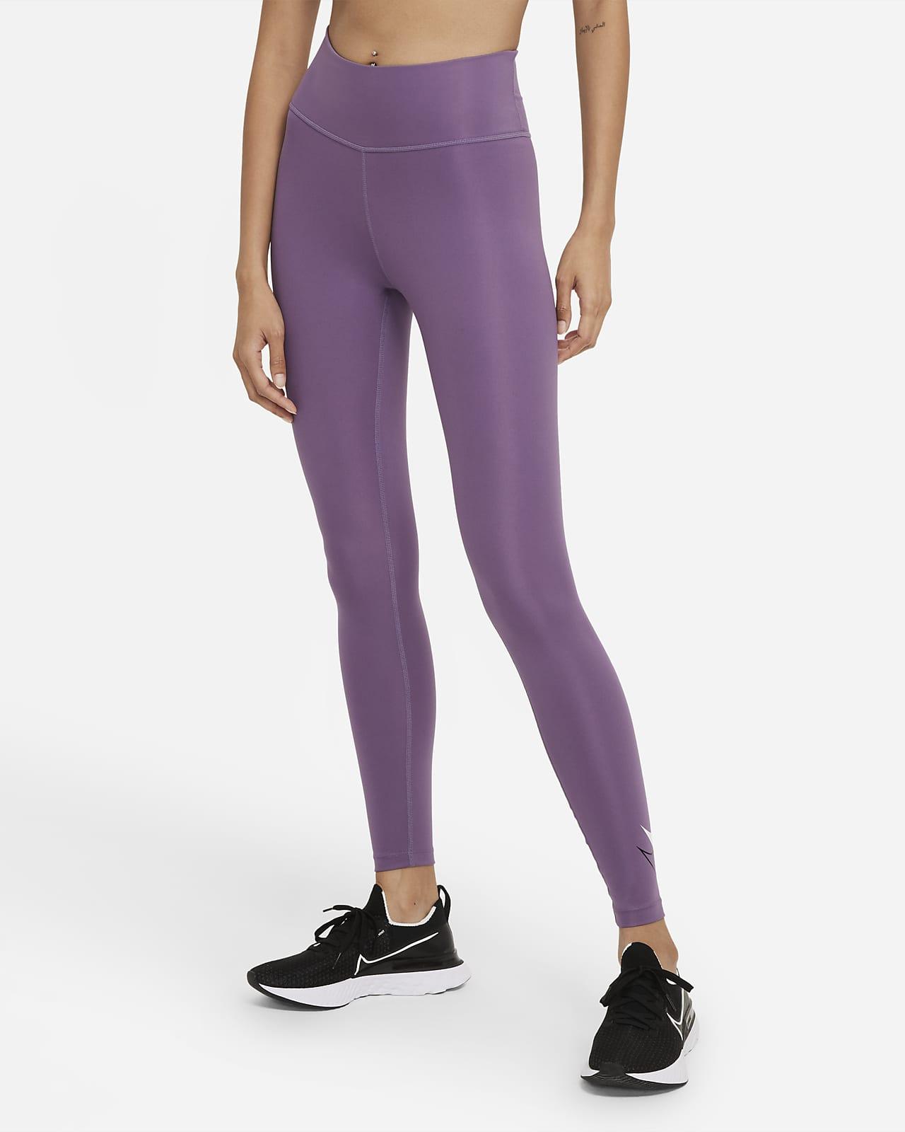 Leggings da running a 7/8 a vita media Nike Dri-FIT Swoosh Run - Donna