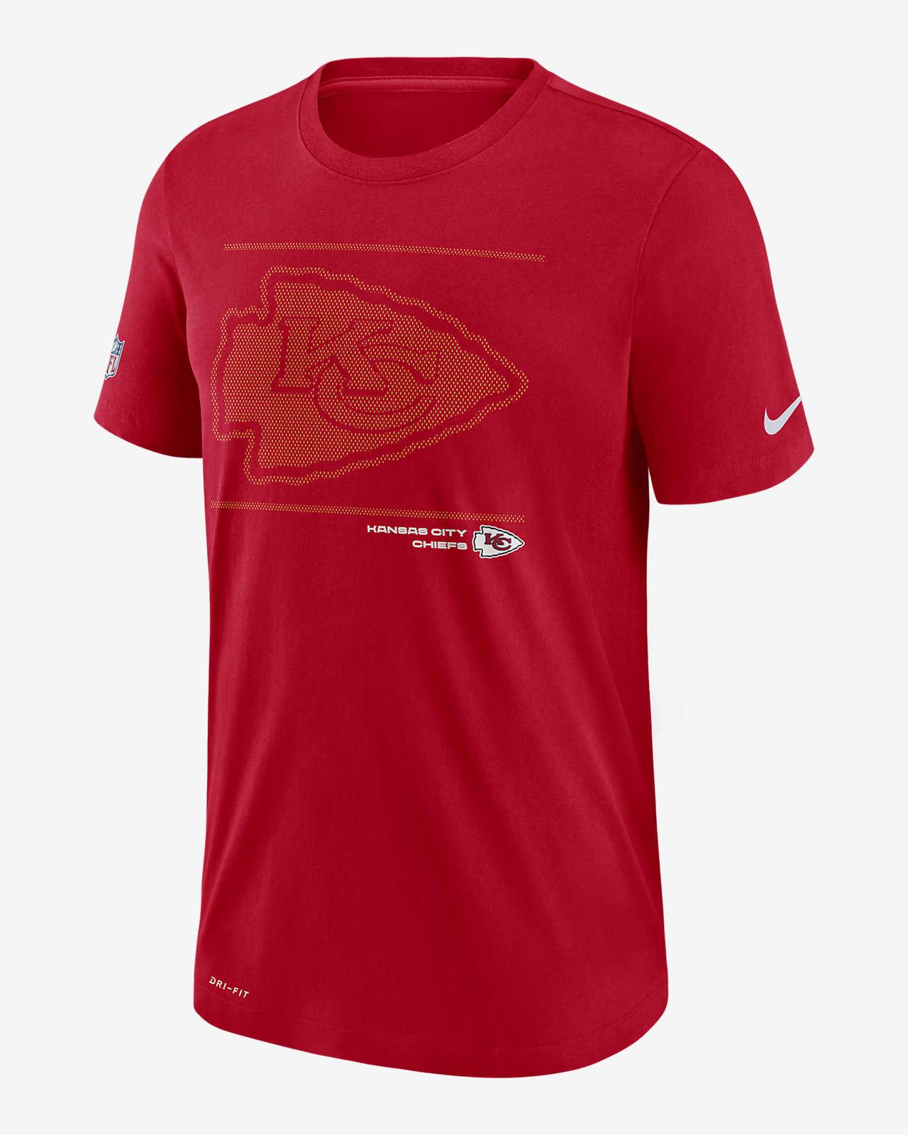 Nike Dri-FIT Sideline Team Issue (NFL Kansas City Chiefs) Men's T-Shirt