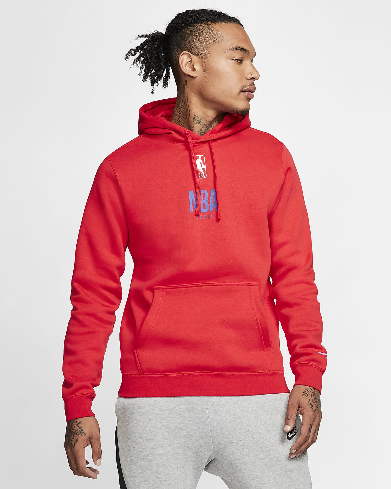 Nike Courtside Paris NBA Pullover für Herren