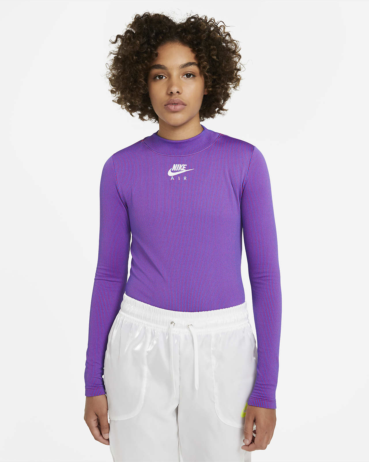 Nike Air Women's Mock Neck Long Sleeve