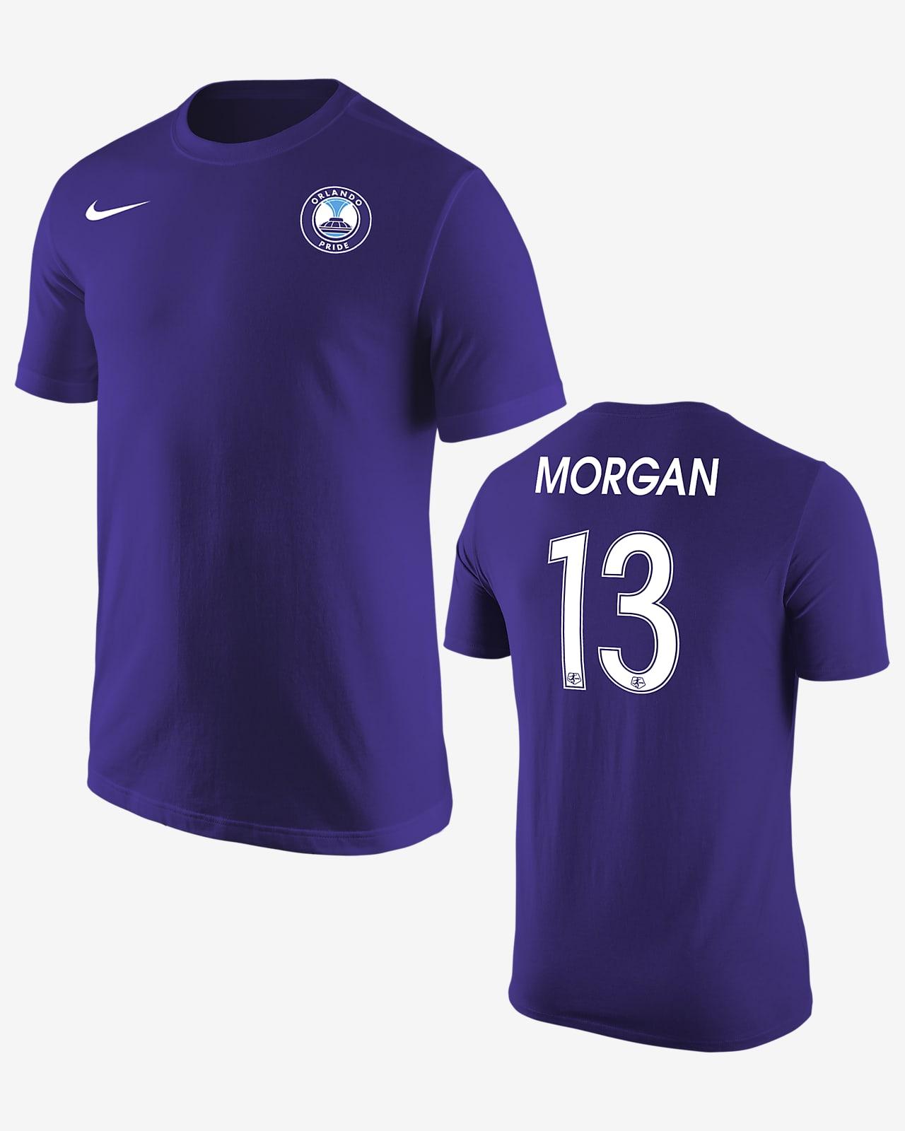 Orlando Pride Alex Morgan Soccer T-Shirt