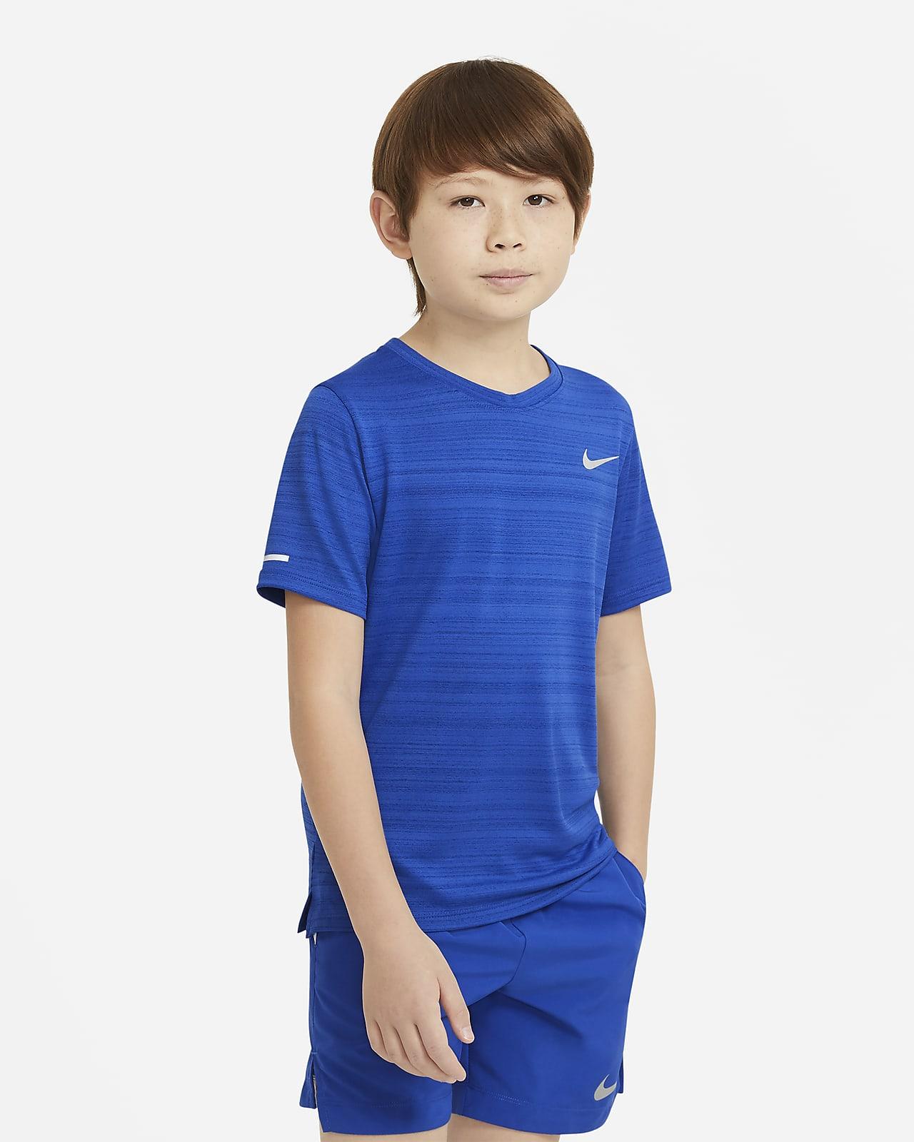 Camisola de treino Nike Dri-FIT Miler Júnior (Rapaz)