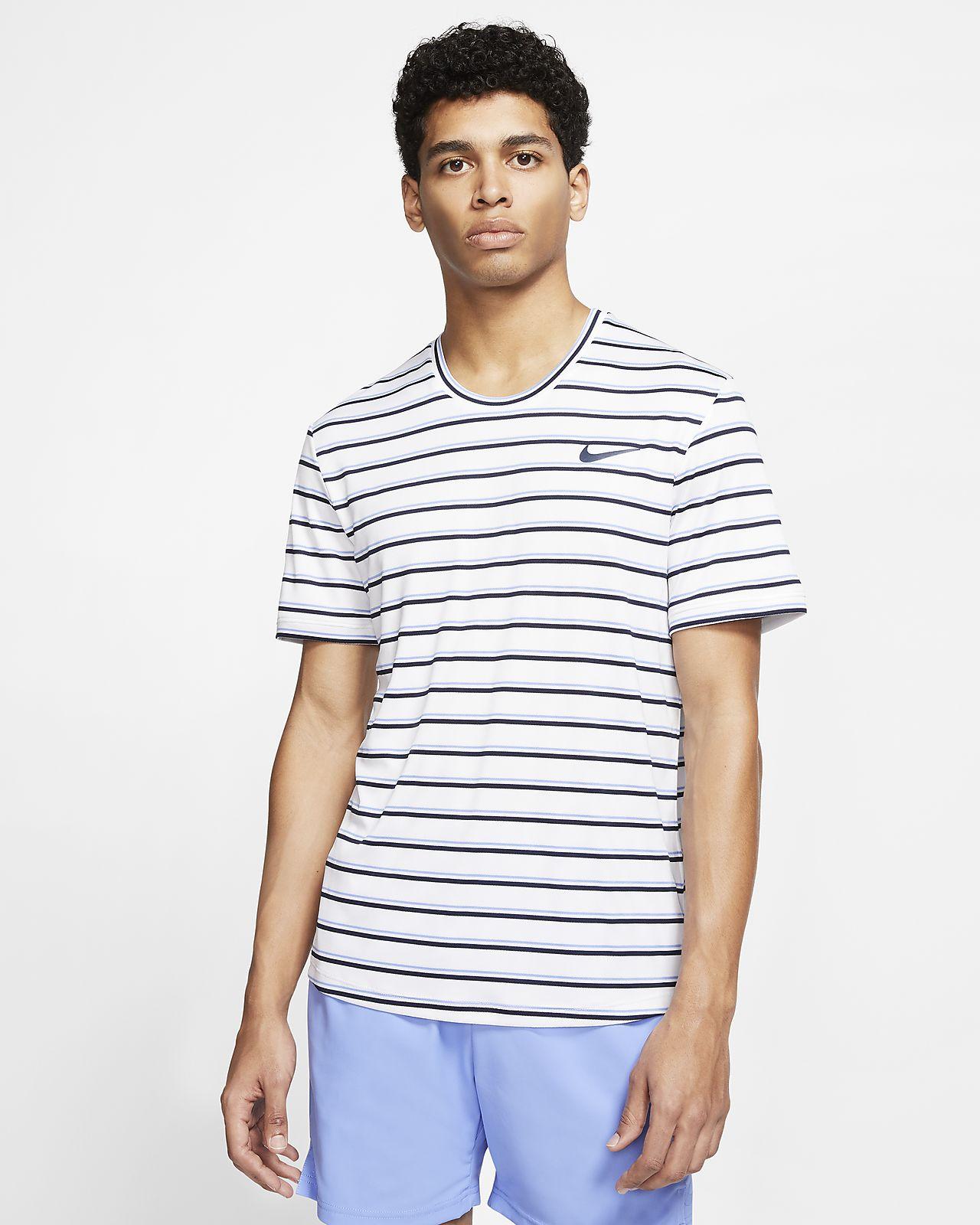 Pánské tenisové tričko s grafikou NikeCourt Dri-FIT