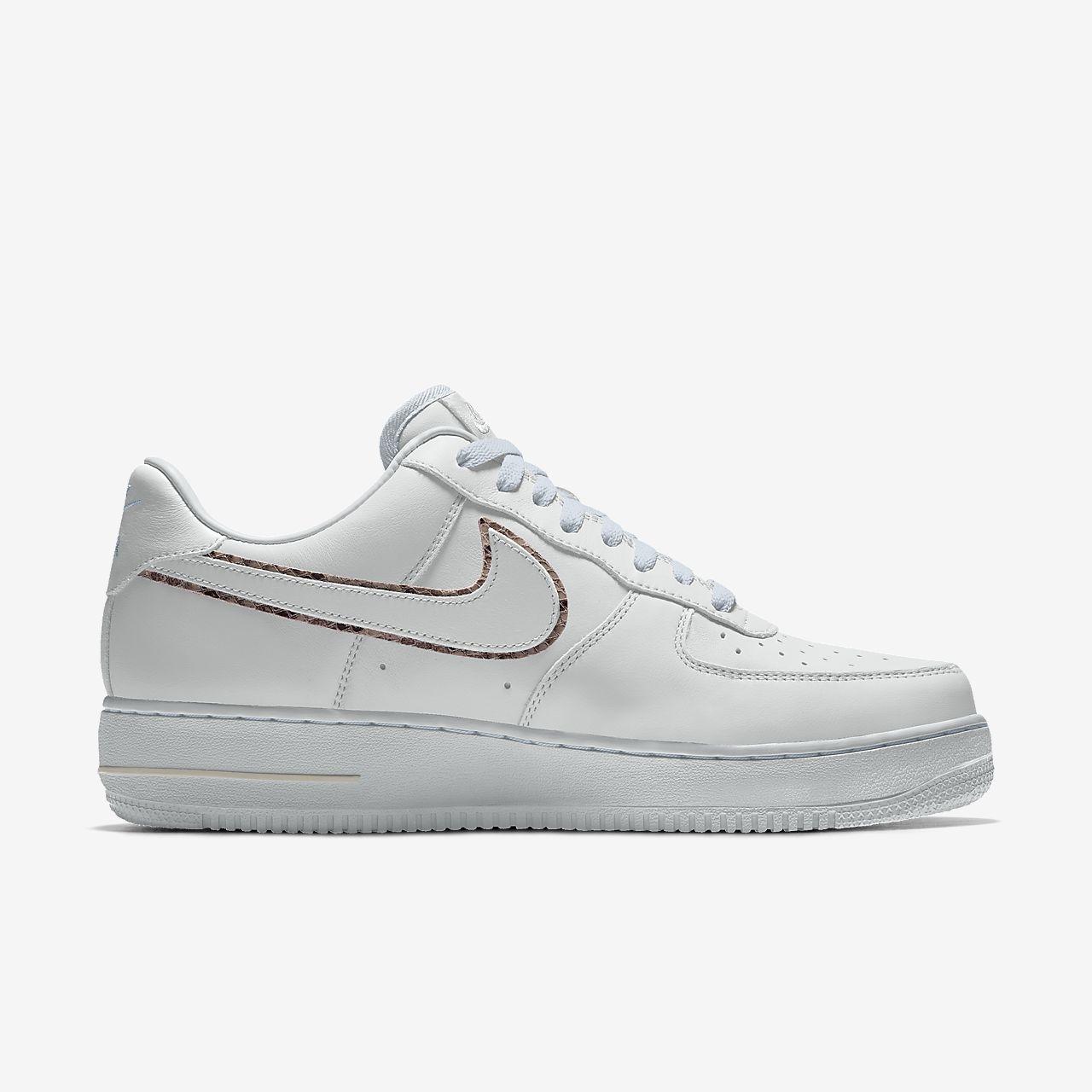 Nike Air Force 1 Low Unlocked By You Custom Women's Shoe