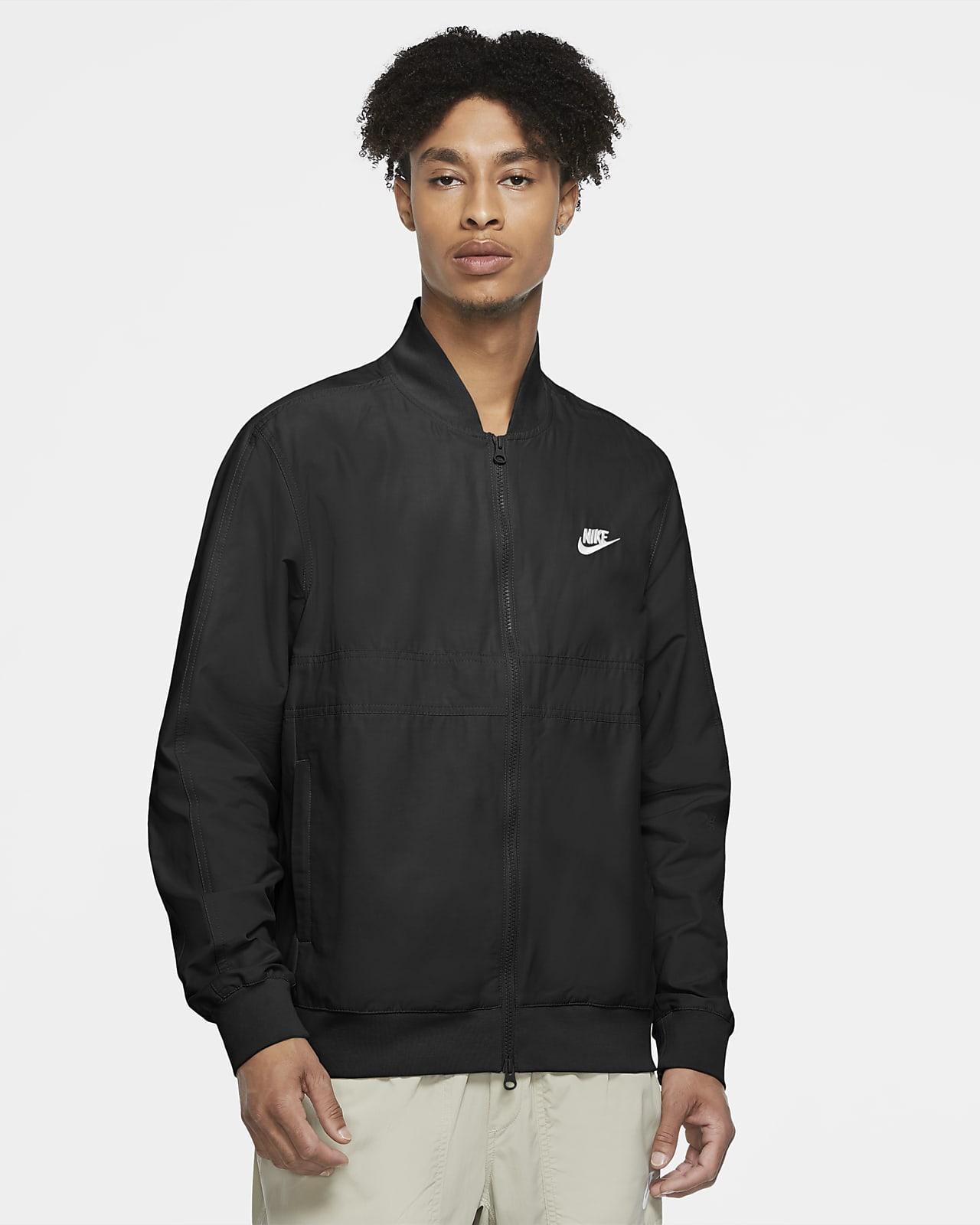 เสื้อแจ็คเก็ตนักกีฬาแบบทอผู้ชาย Nike Sportswear