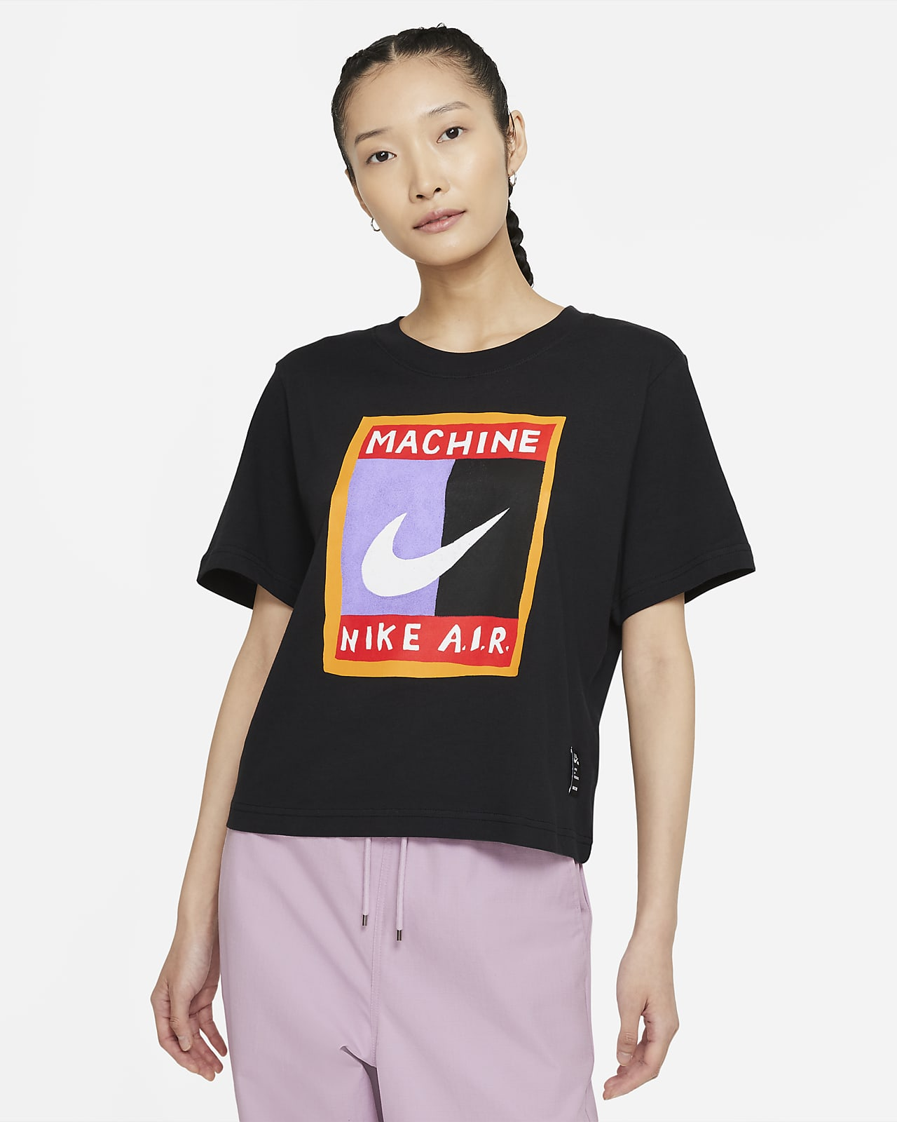 Nike Sportswear 女款寬版 T 恤
