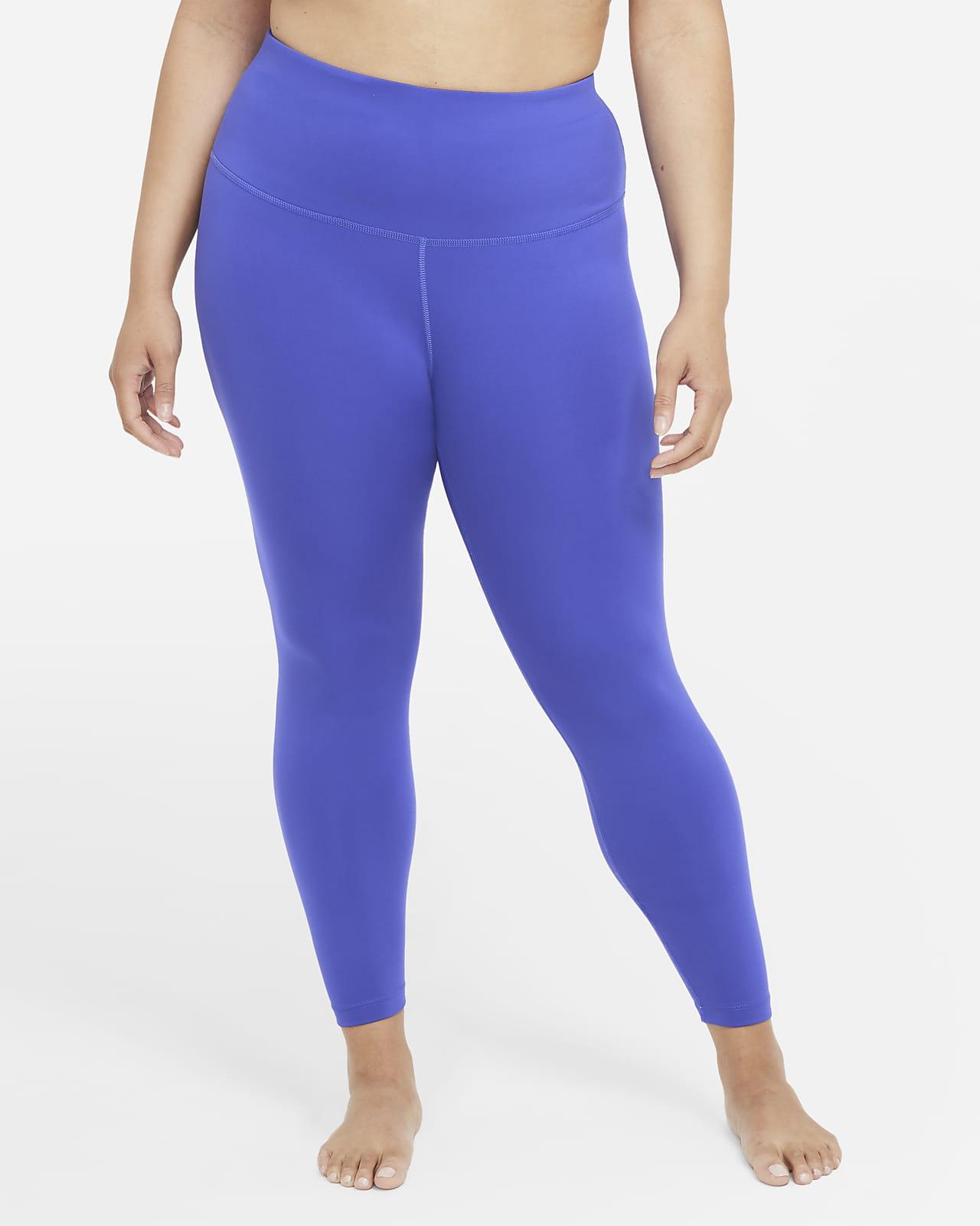 Leggings de cintura alta de 7/8 para mujer (talla grande) Nike Yoga