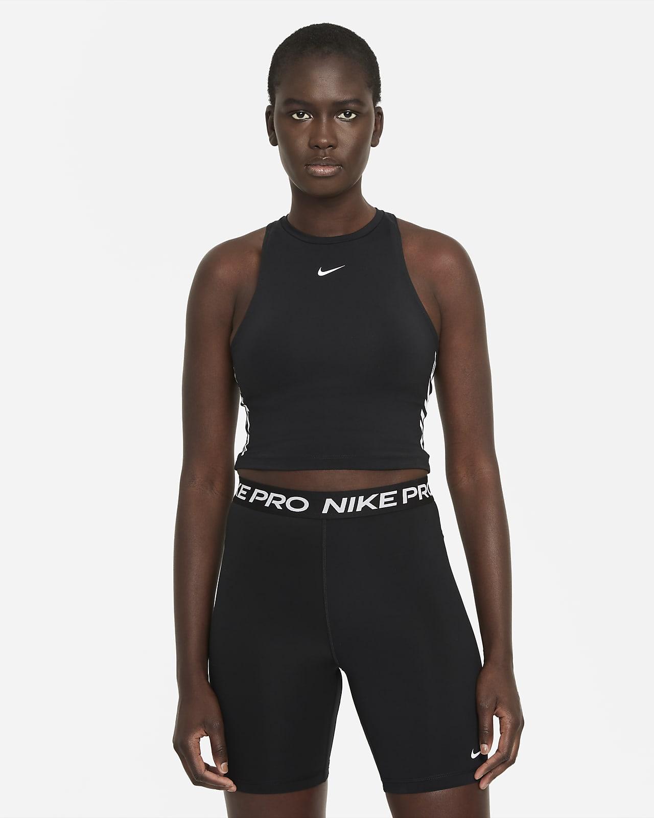 Nike Pro Dri-FIT Women's Cropped Graphic Tank