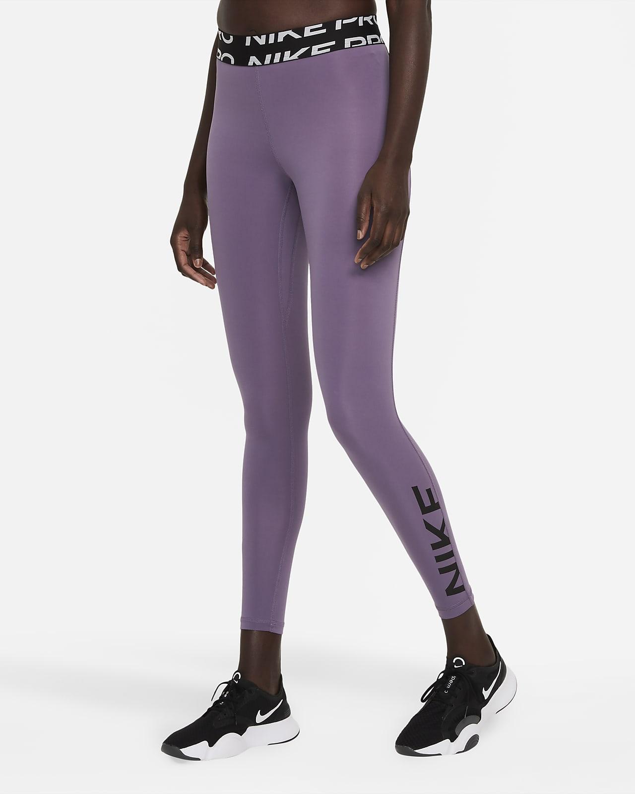 Nike Pro Dri-FIT Women's Mid-Rise Graphic Leggings
