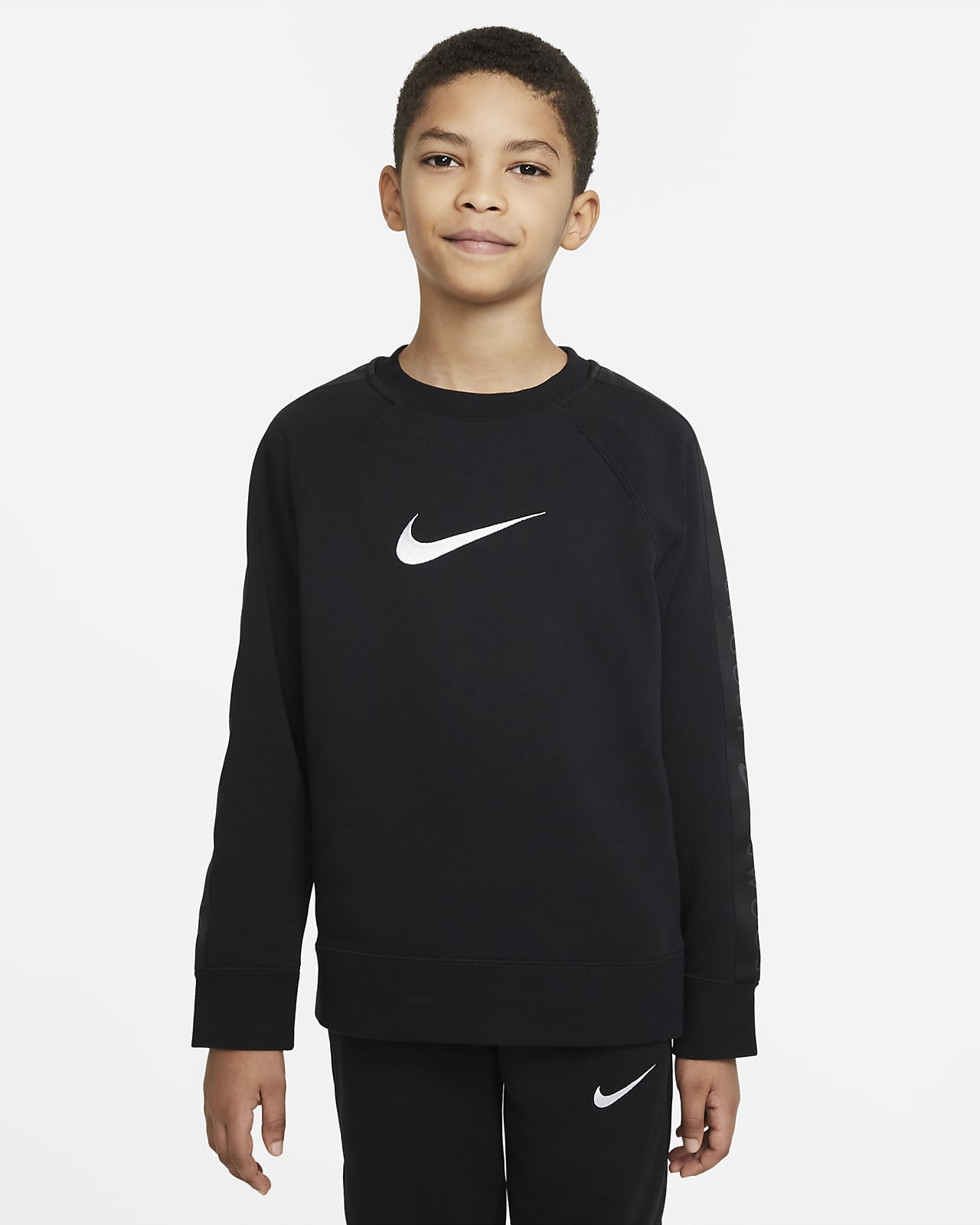 Haut Nike Sportswear Swoosh pour Garçon plus âgé