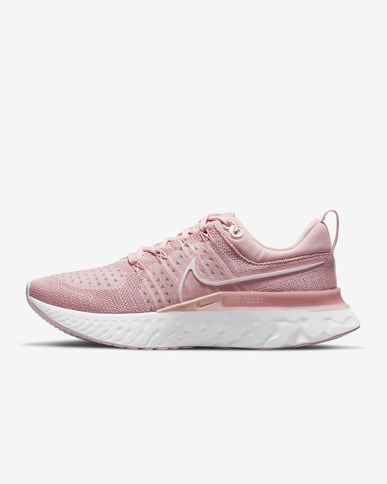 Женские кроссовки для бега по шоссе Nike React Infinity Run Flyknit 2