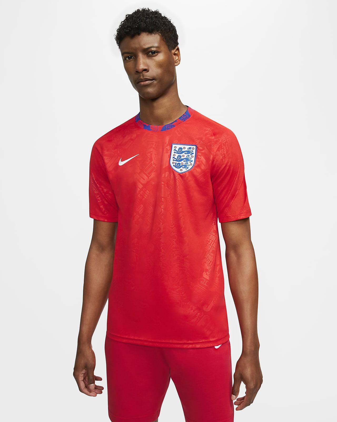 英格兰队男子短袖足球上衣