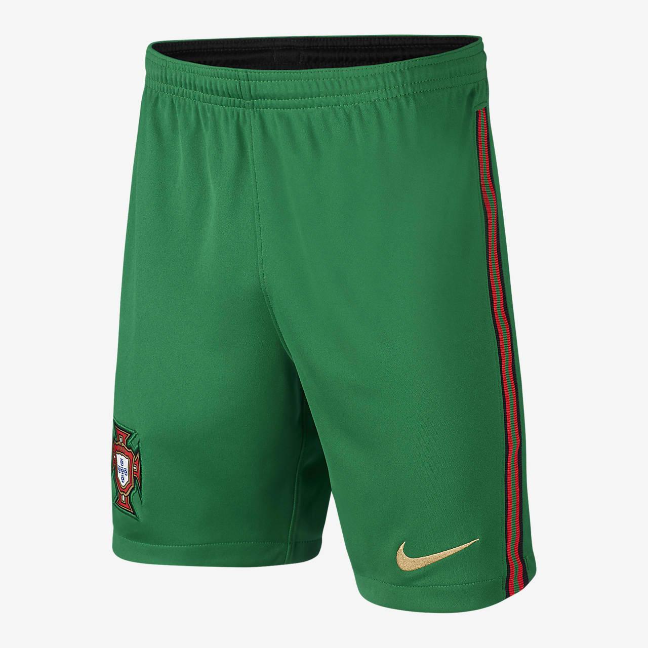 Portugal Stadium 2020 Home Older Kids' Football Shorts
