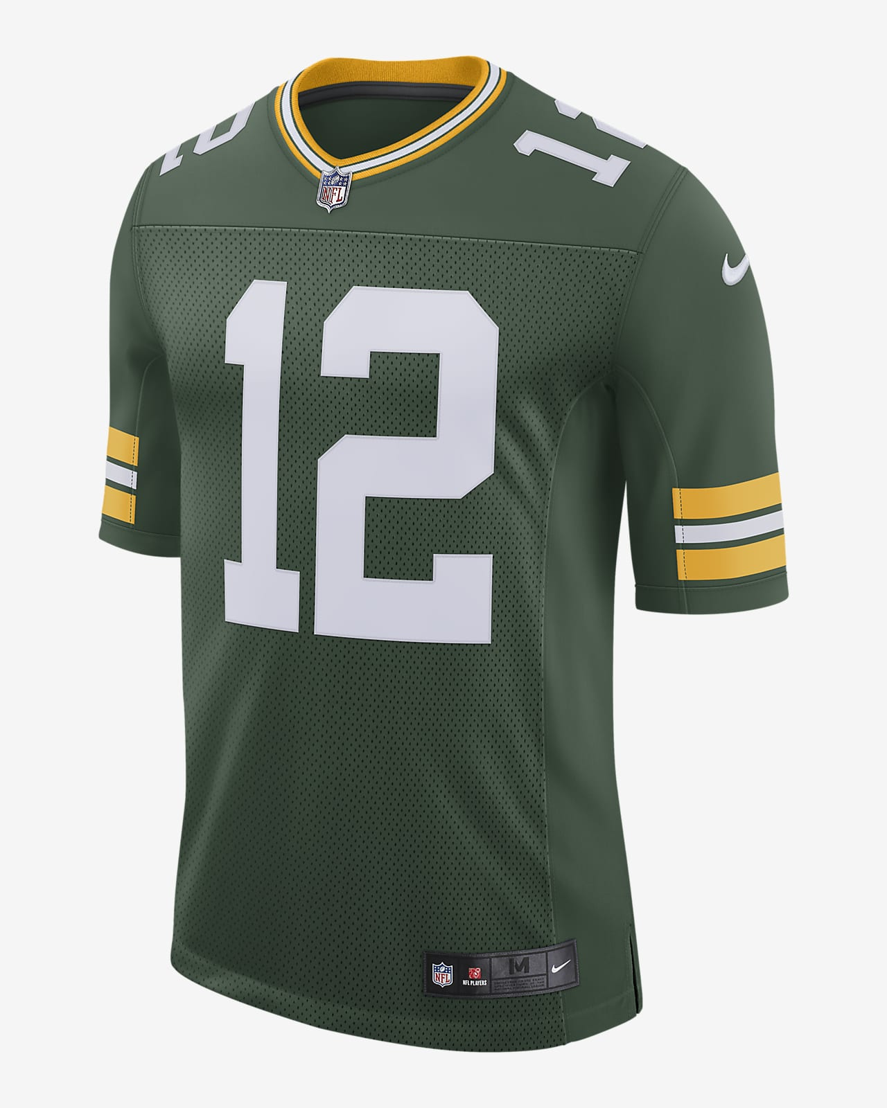 Maillot de football américain Limited NFL Green Bay Packers Vapor Untouchable (Aaron Rodgers) pour Homme