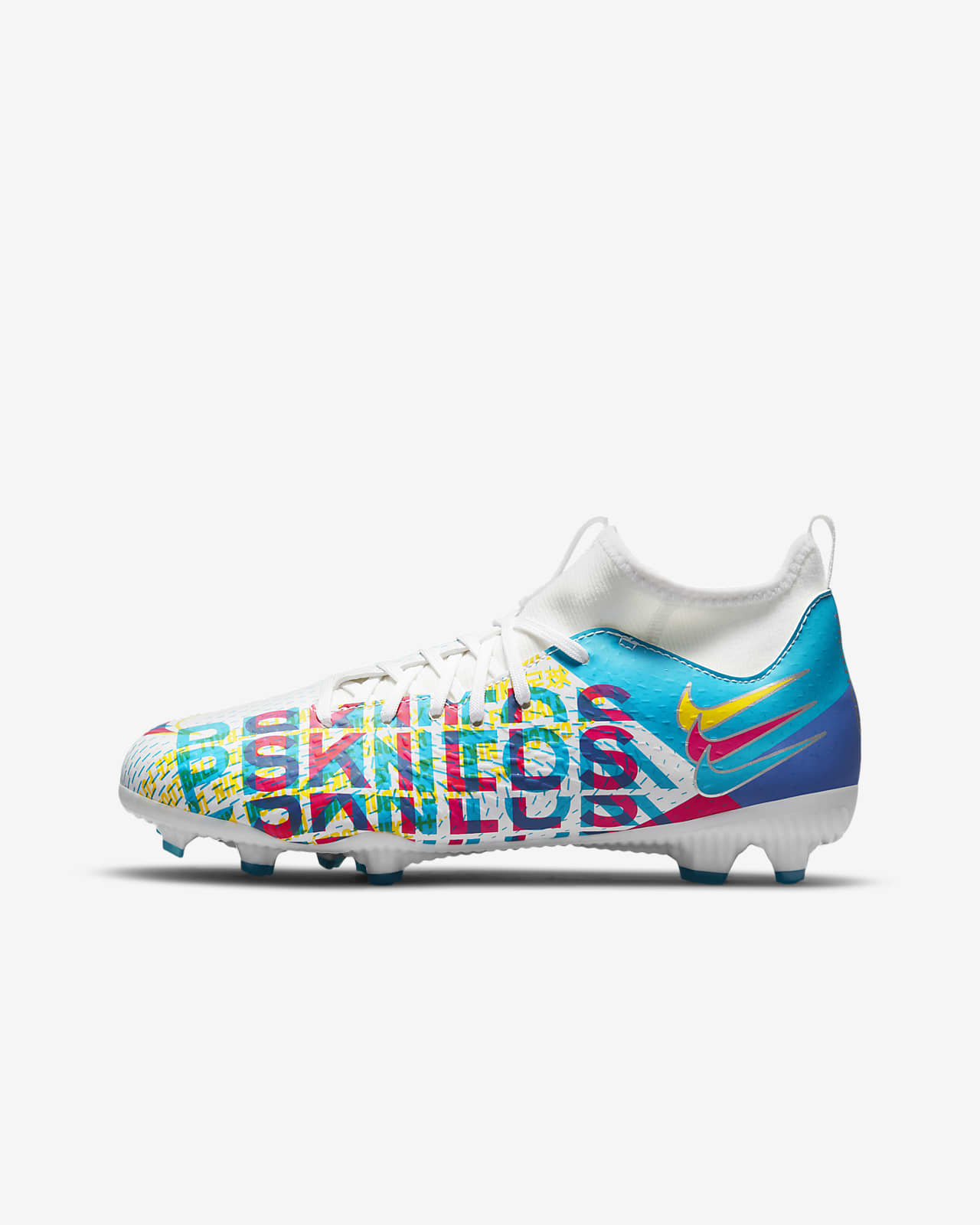 Chaussure de football à crampons multi-surfaces Nike Jr. Phantom GT Academy Dynamic Fit 3D MG pour Jeune enfant/Enfant plus âgé