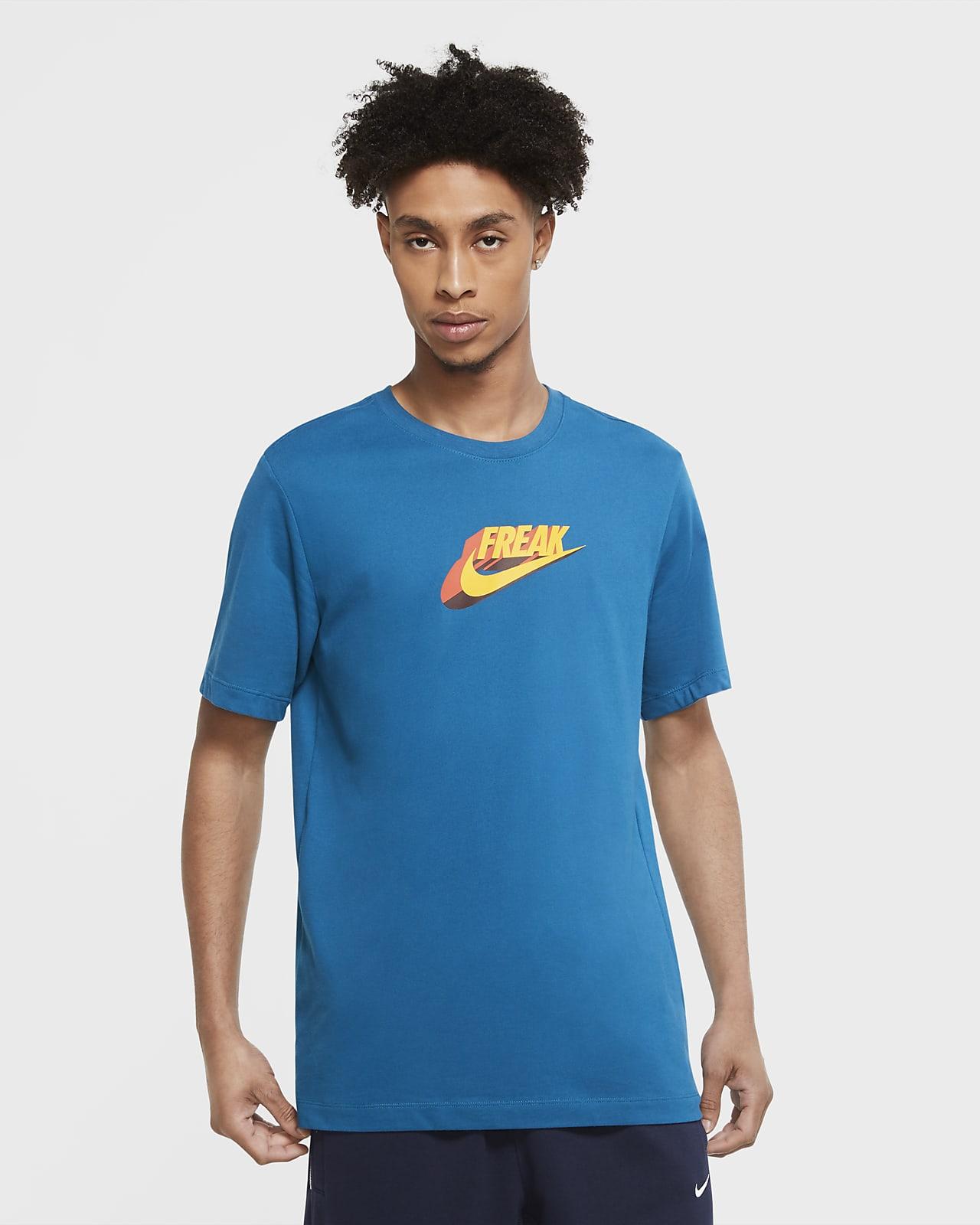 Giannis Swoosh Freak Men's Nike Dri-FIT T-Shirt